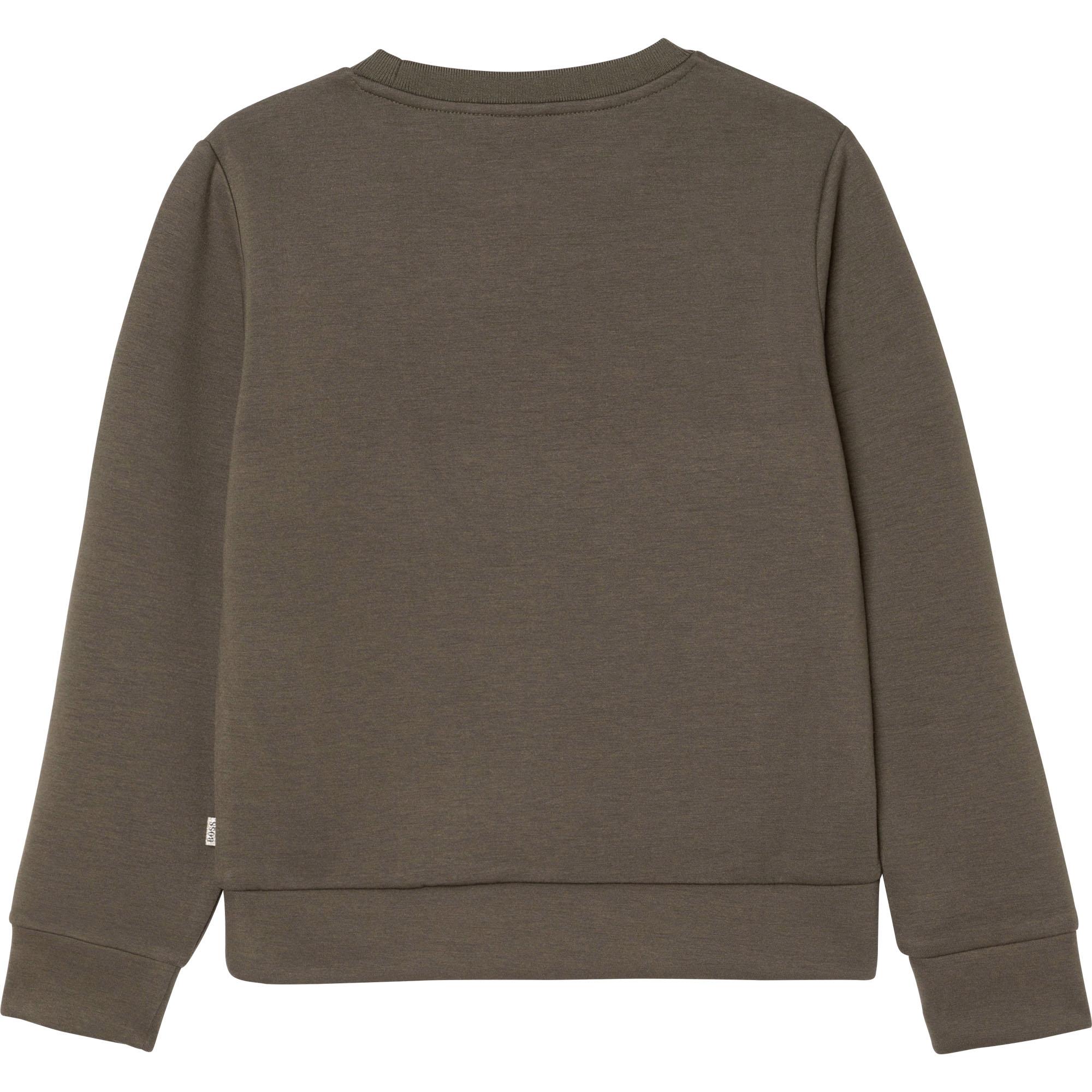 Jersey sweatshirt BOSS for GIRL