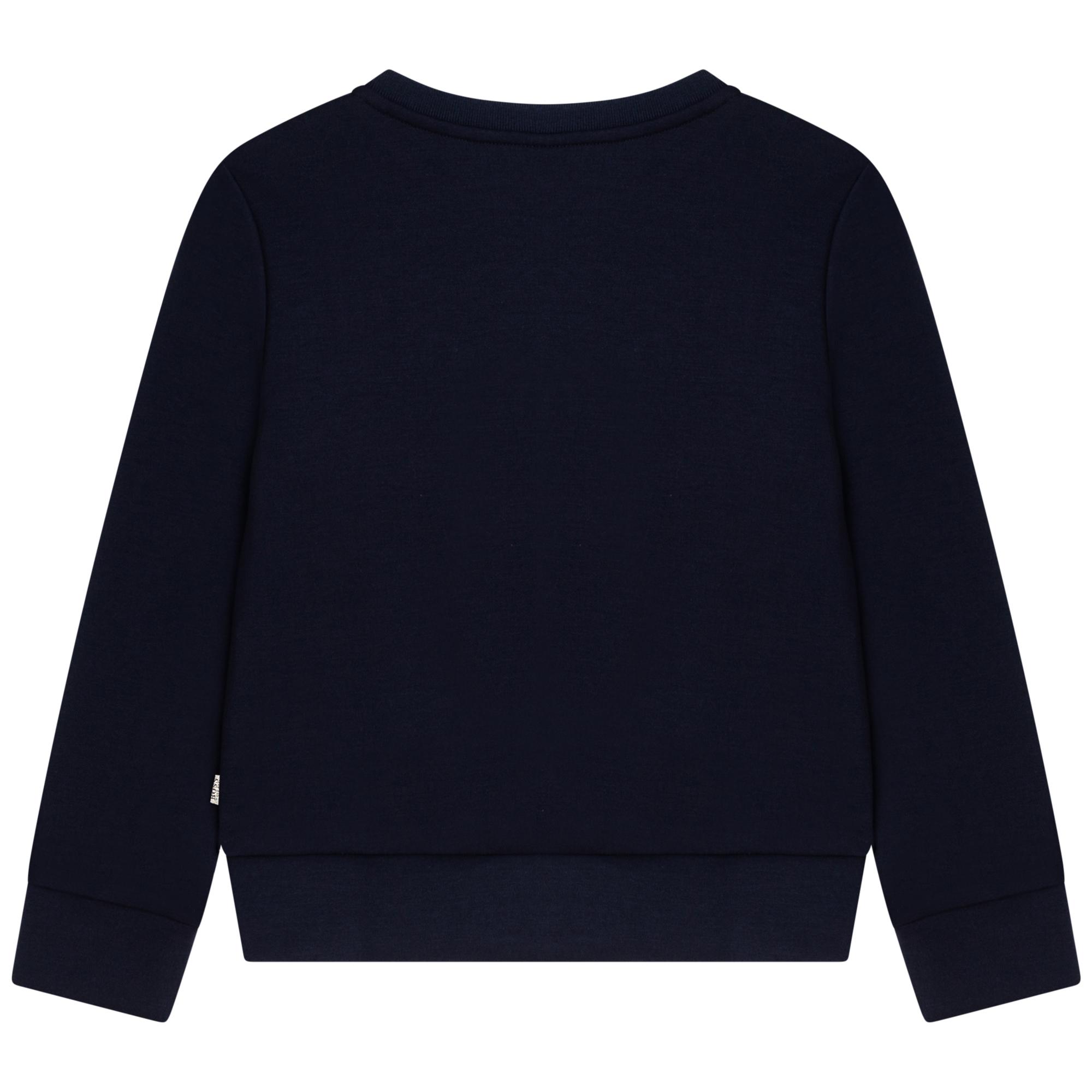 Sweatshirt en jersey BOSS pour FILLE