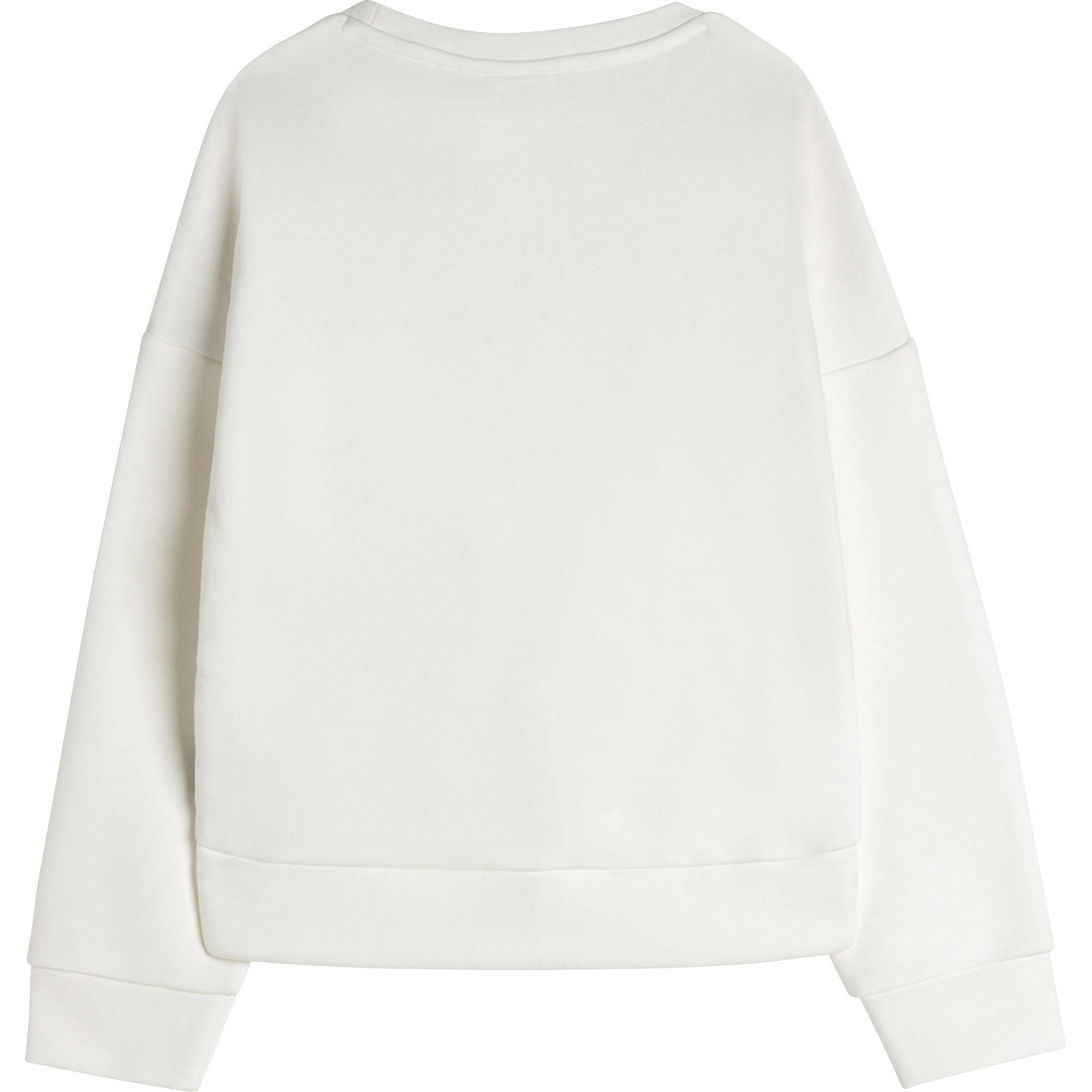 Fleece sweatshirt BOSS for GIRL