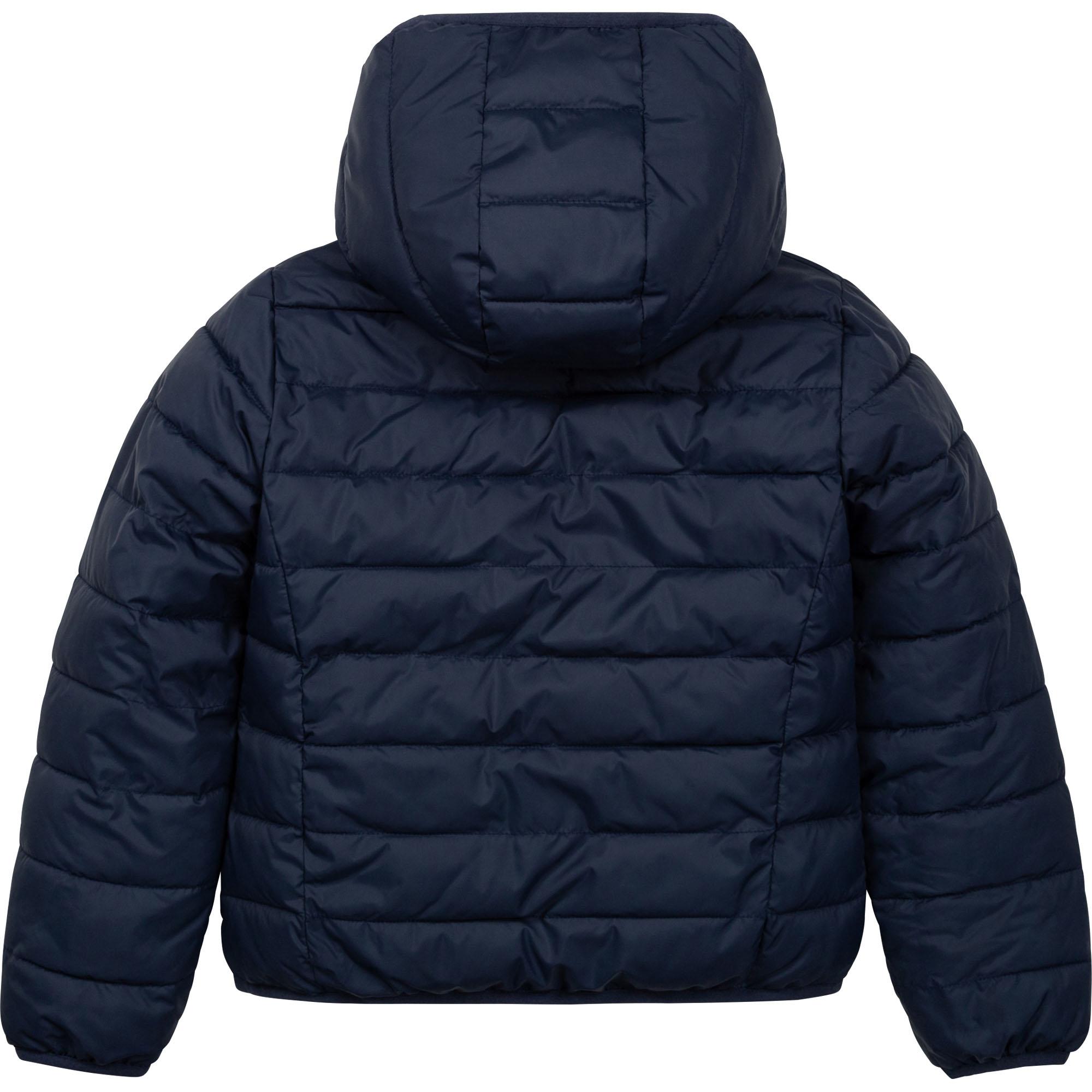 Reversible hooded down jacket BOSS for GIRL