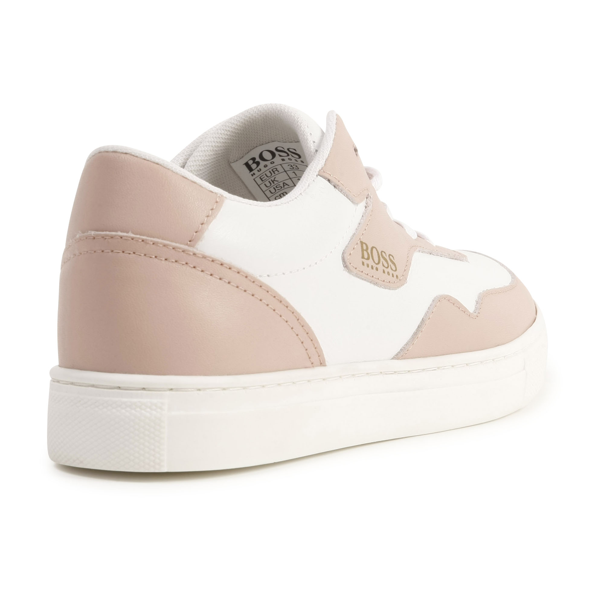 Two-tone leather sneakers BOSS for GIRL