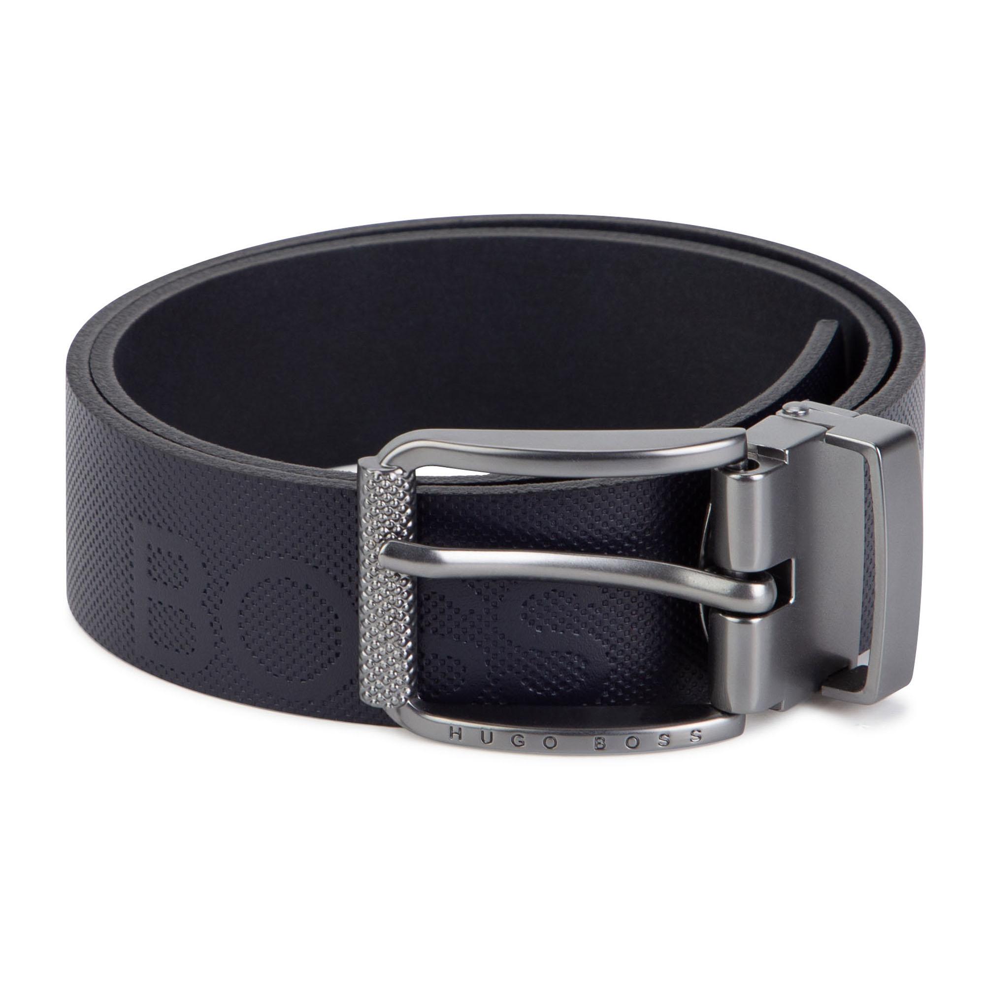 Split leather belt BOSS for BOY