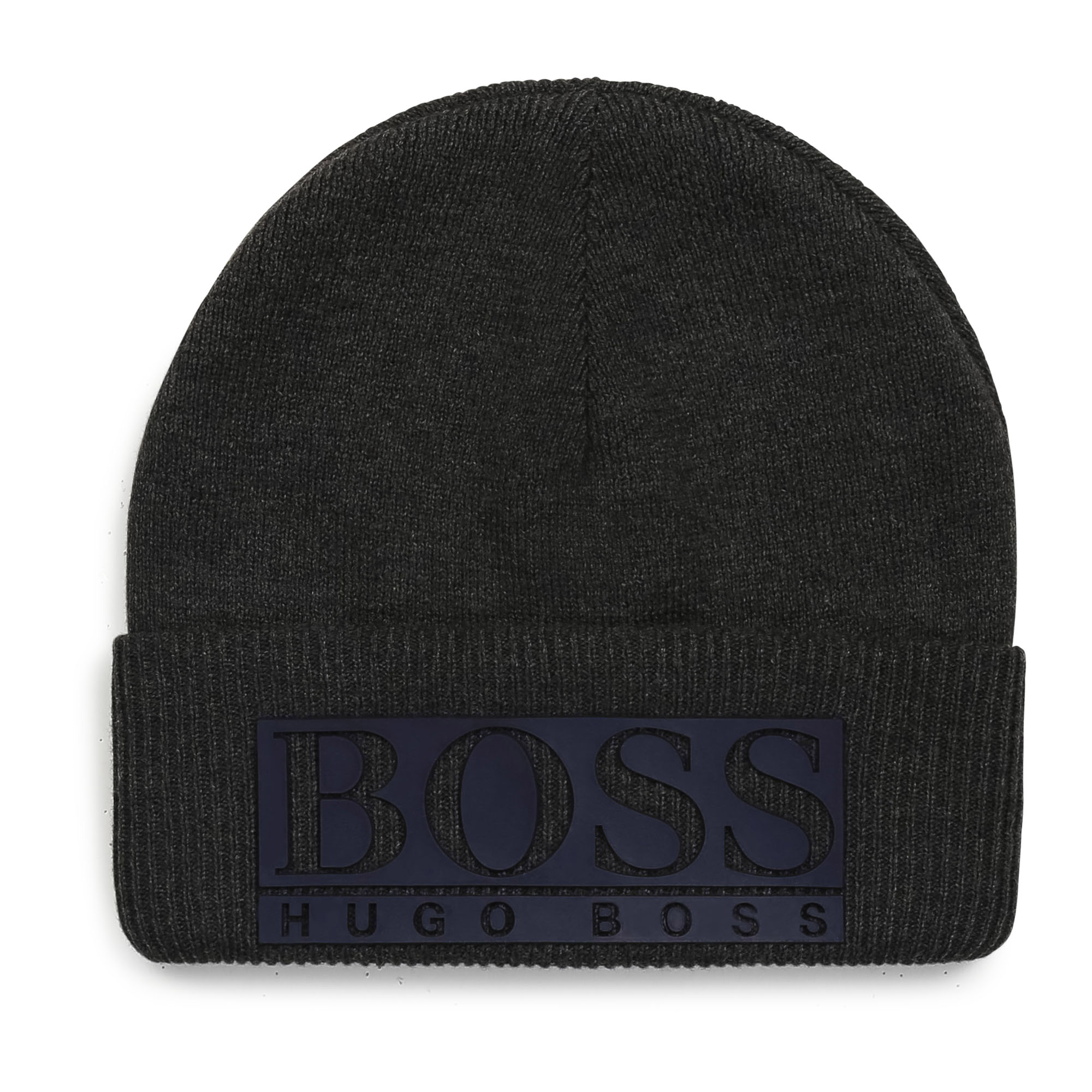 Knit hat with cuff BOSS for BOY