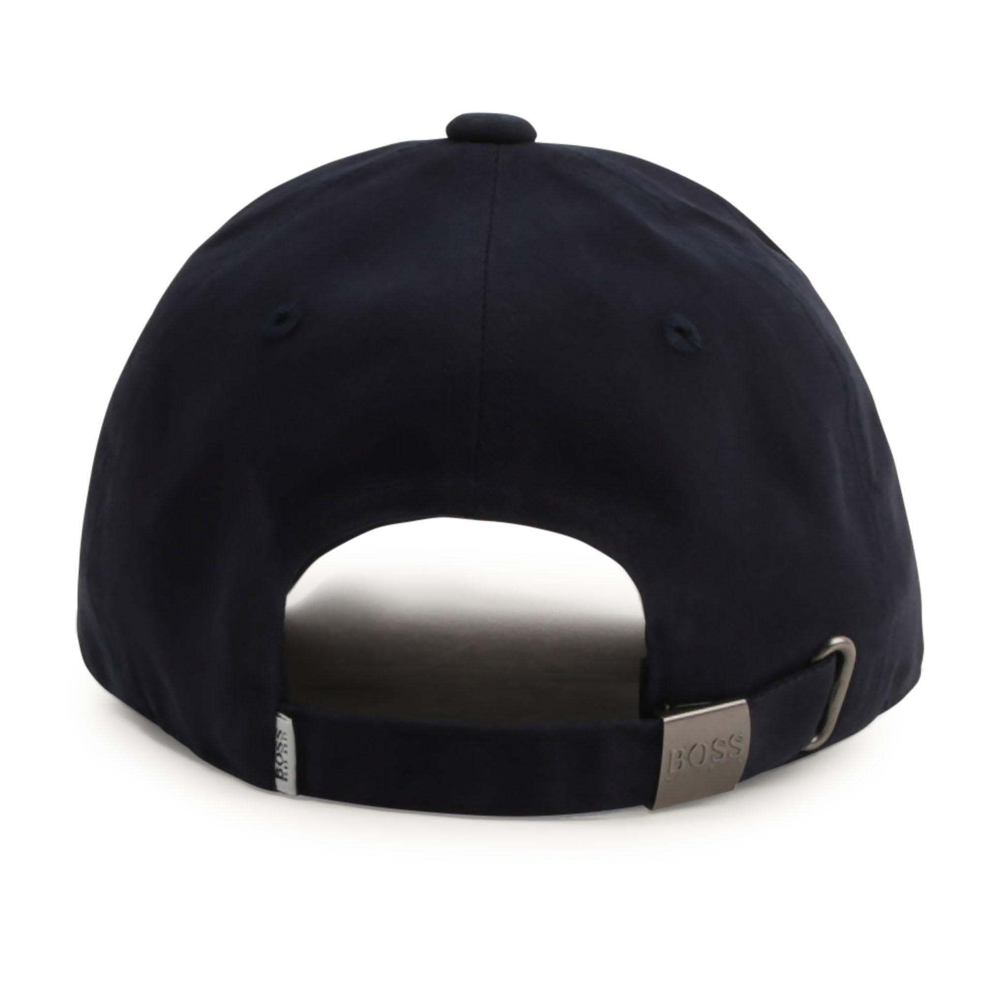 Lined cotton baseball hat BOSS for BOY