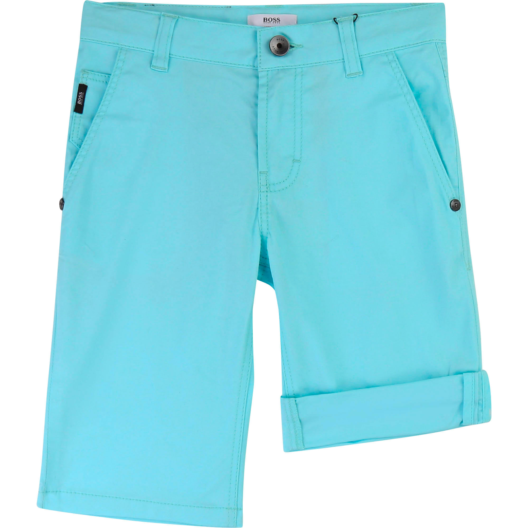 BERMUDA SHORTS+BELT BOSS for BOY