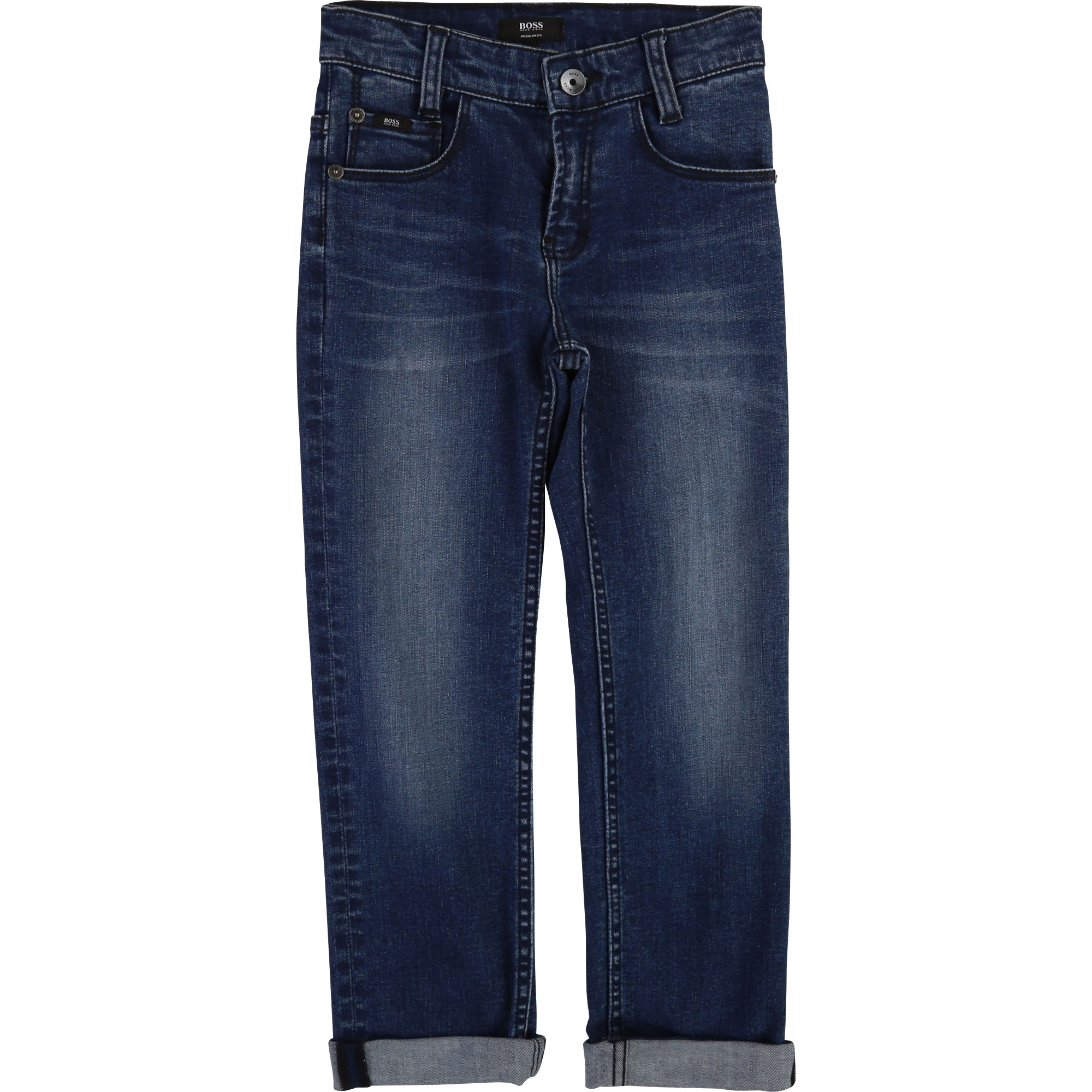 Jean regular coton stretch BOSS pour GARCON