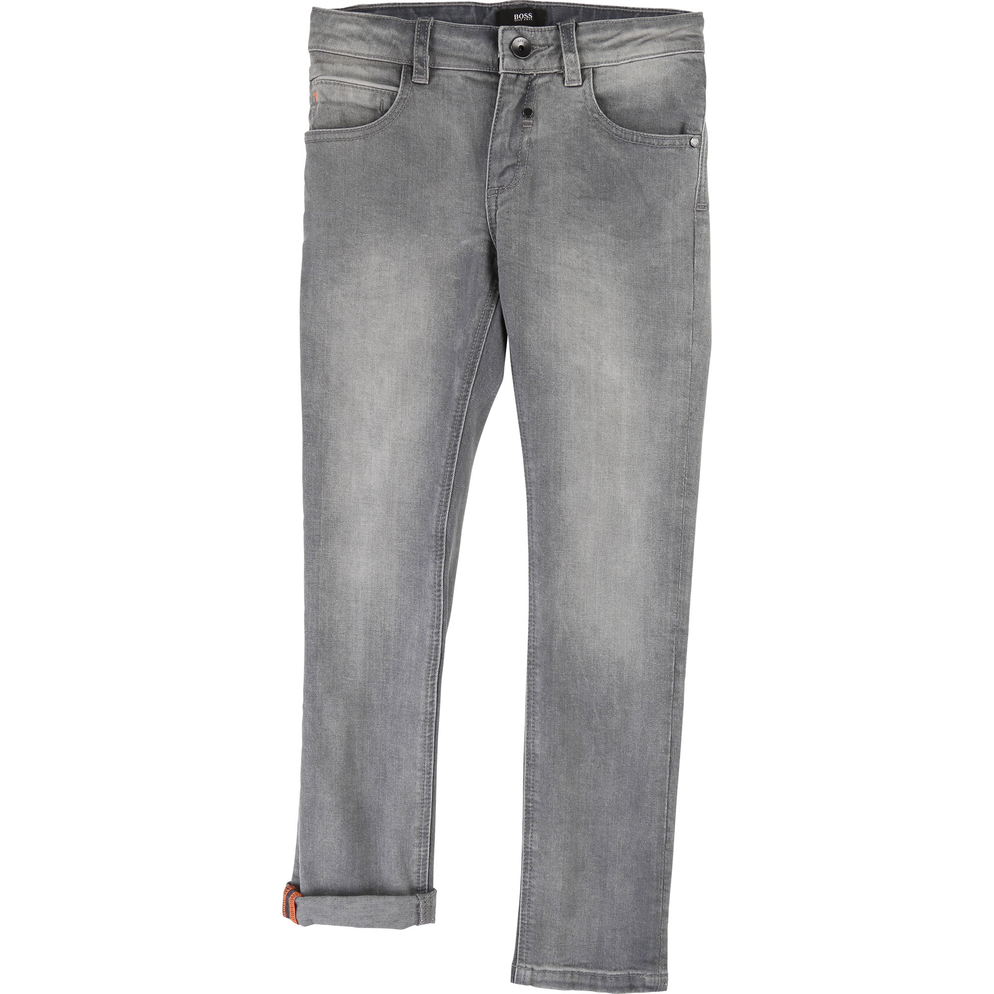 Stretch cotton skinny jeans BOSS for BOY