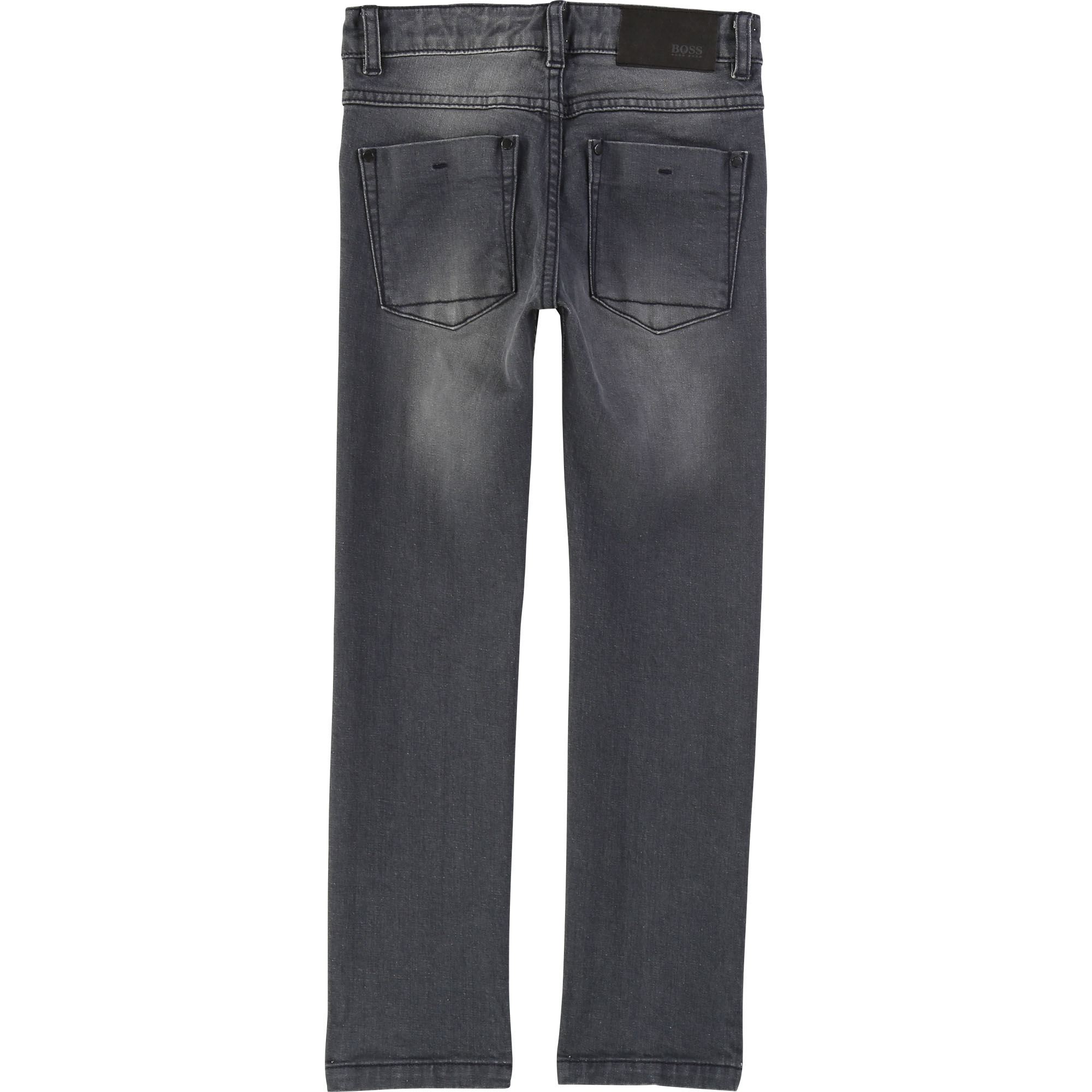 Slim-fit cotton denim trousers BOSS for BOY
