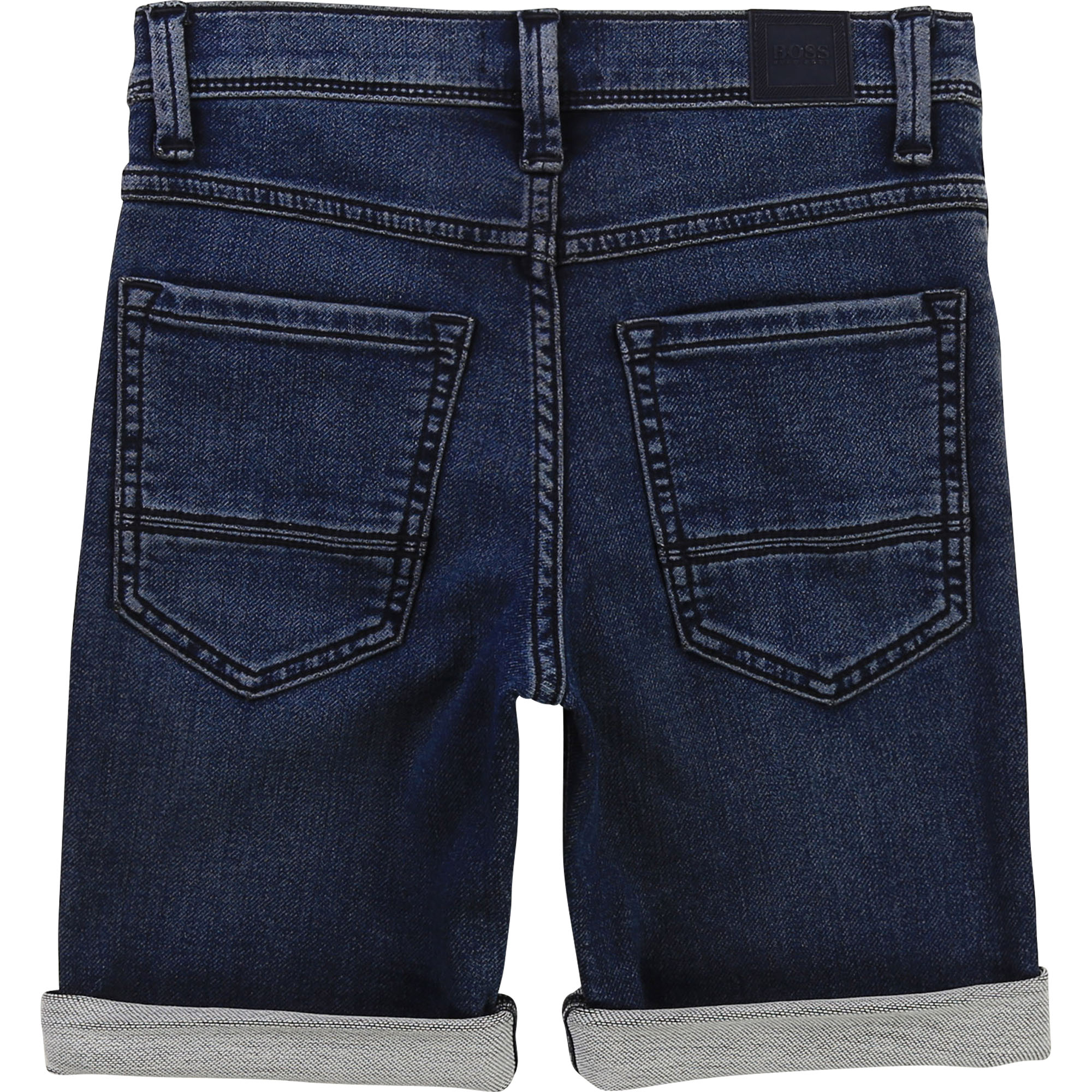 Denim bermuda shorts BOSS for BOY