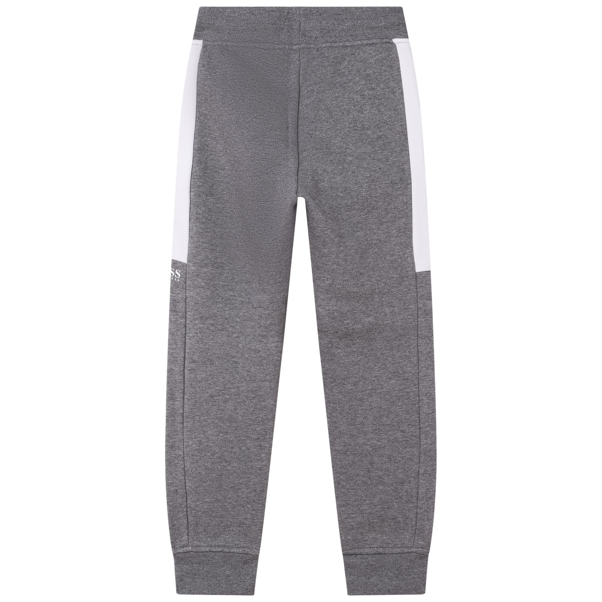 Pantalon de jogging molletonné BOSS pour GARCON