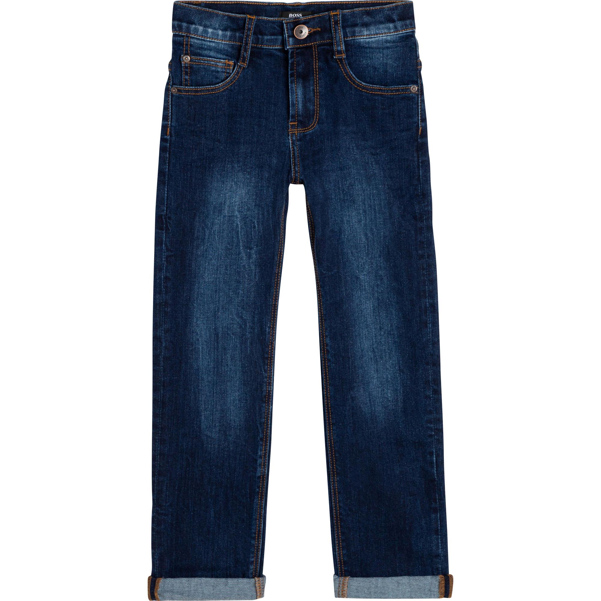 Regular fit denim jeans BOSS for BOY