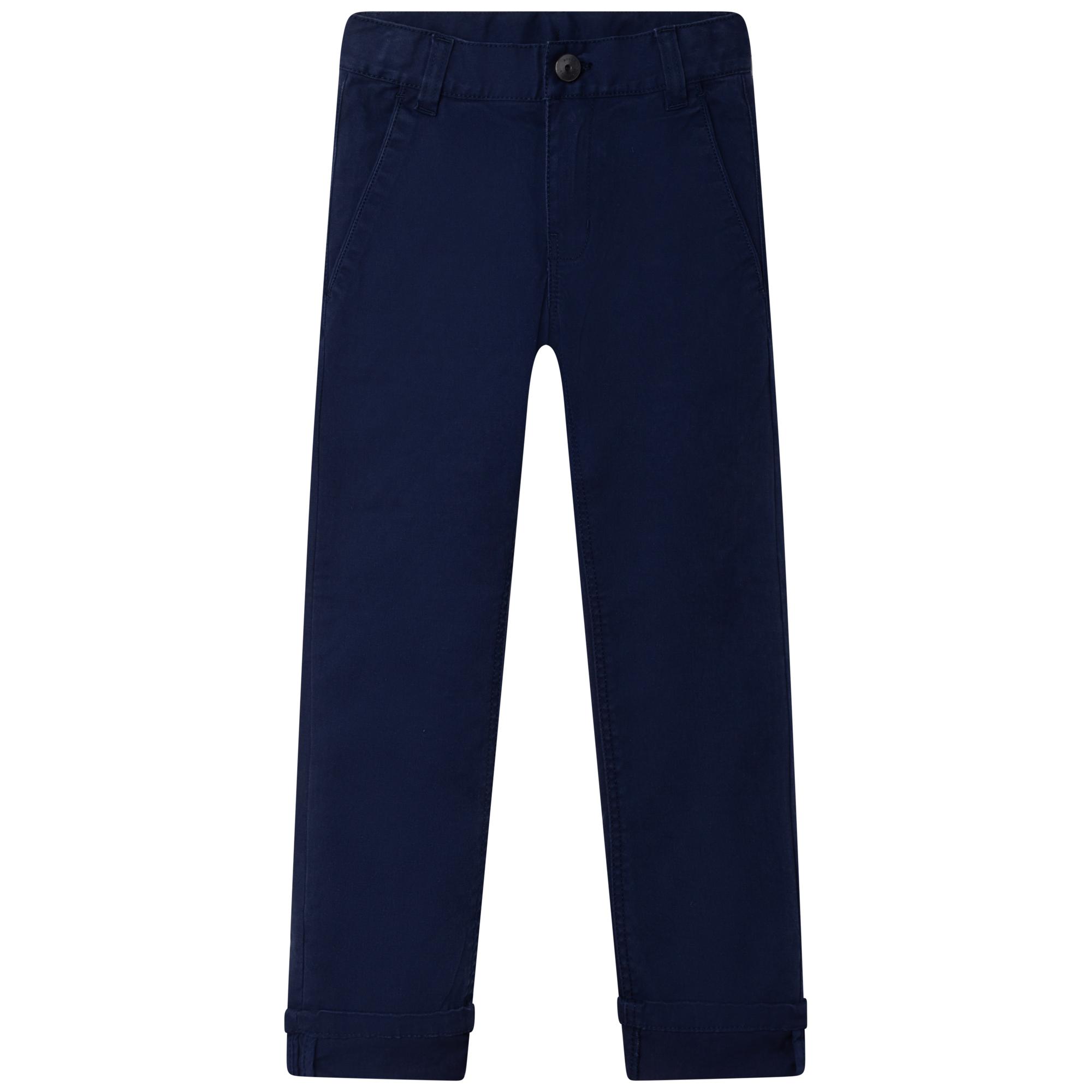 Adjustable cotton pants BOSS for BOY