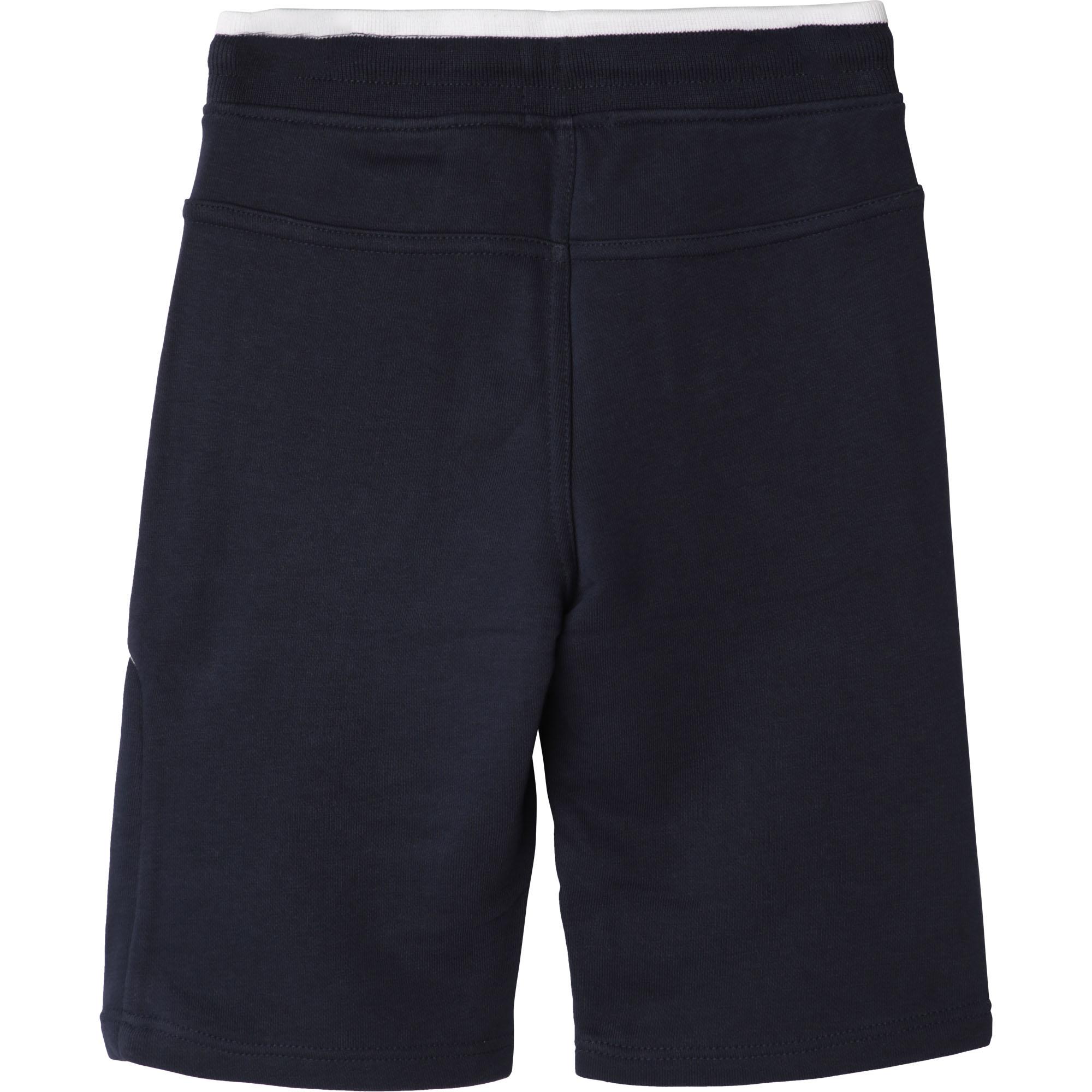 Fleece Bermuda jogging shorts BOSS for BOY