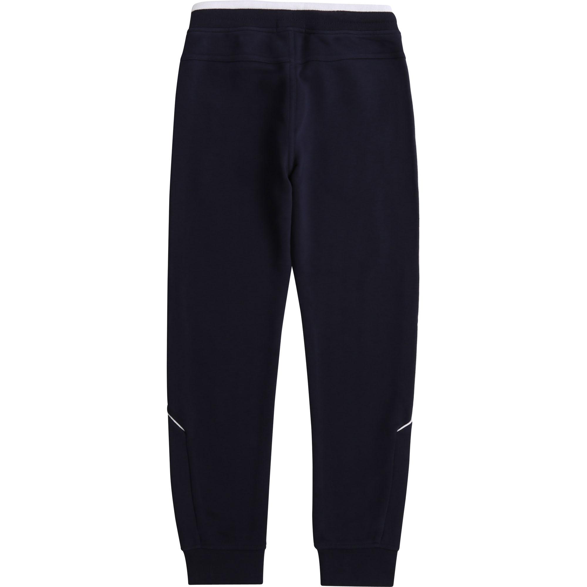Pantalon de jogging molleton BOSS pour GARCON