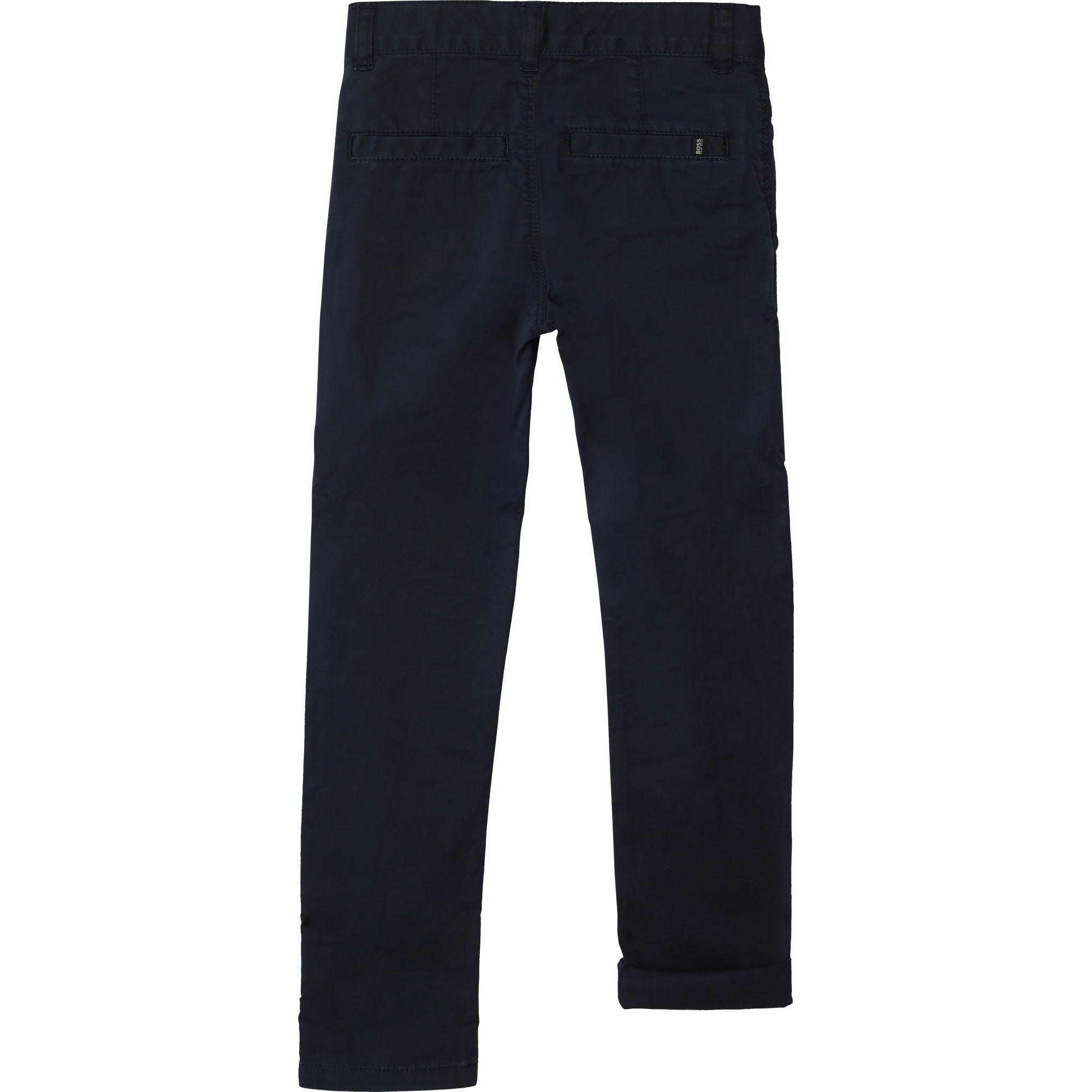 Cotton twill pants BOSS for BOY