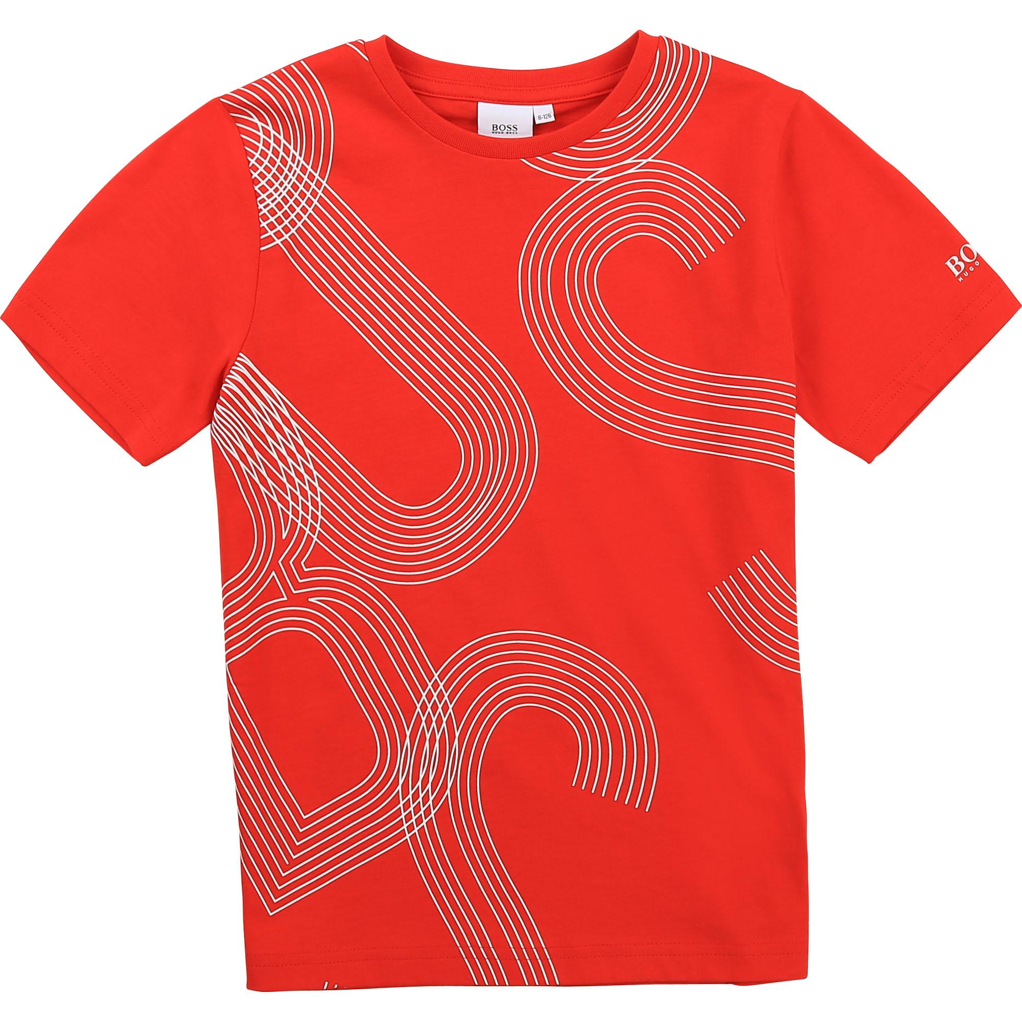 T-shirt à manches courtes BOSS pour GARCON