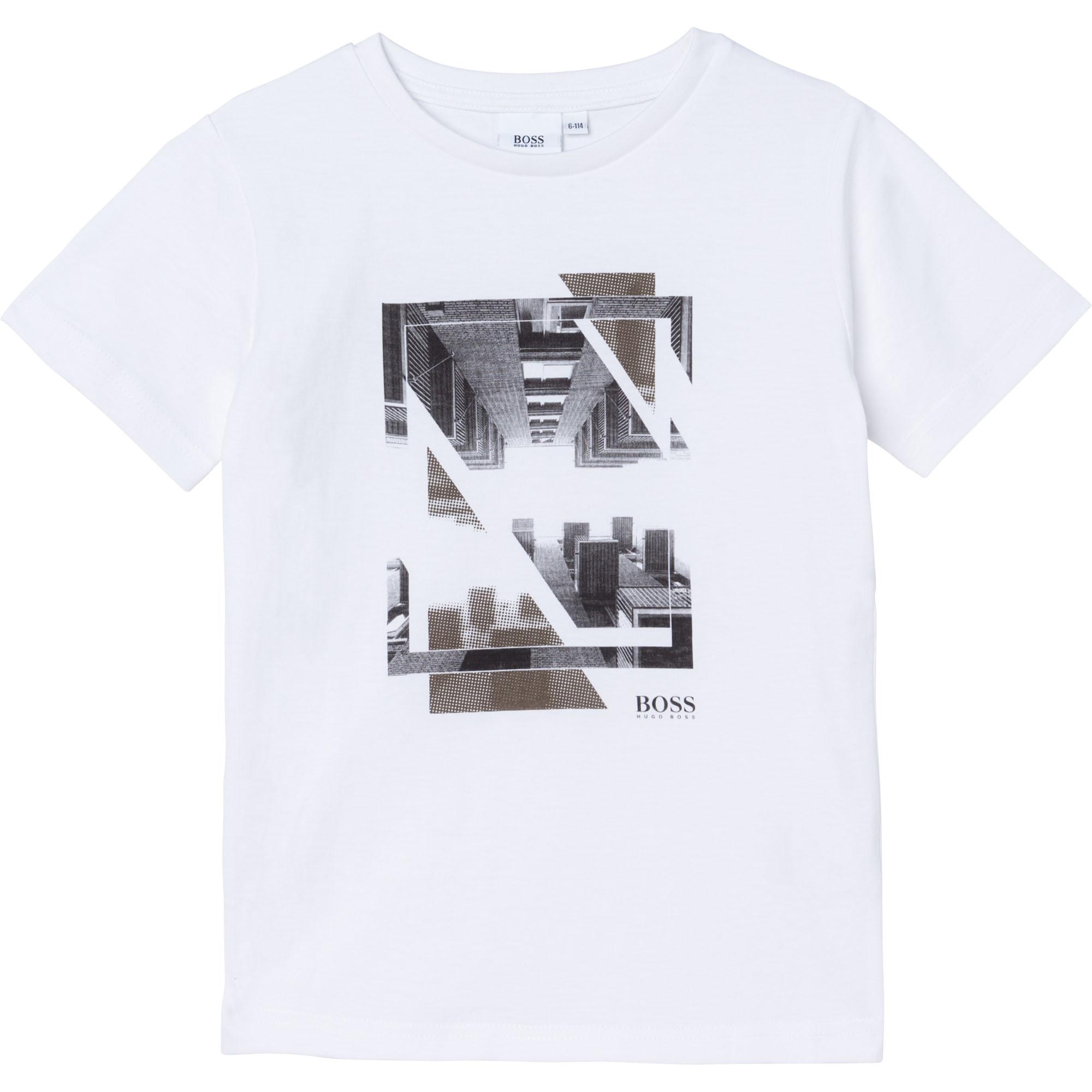 Short-sleeved T-shirt BOSS for BOY