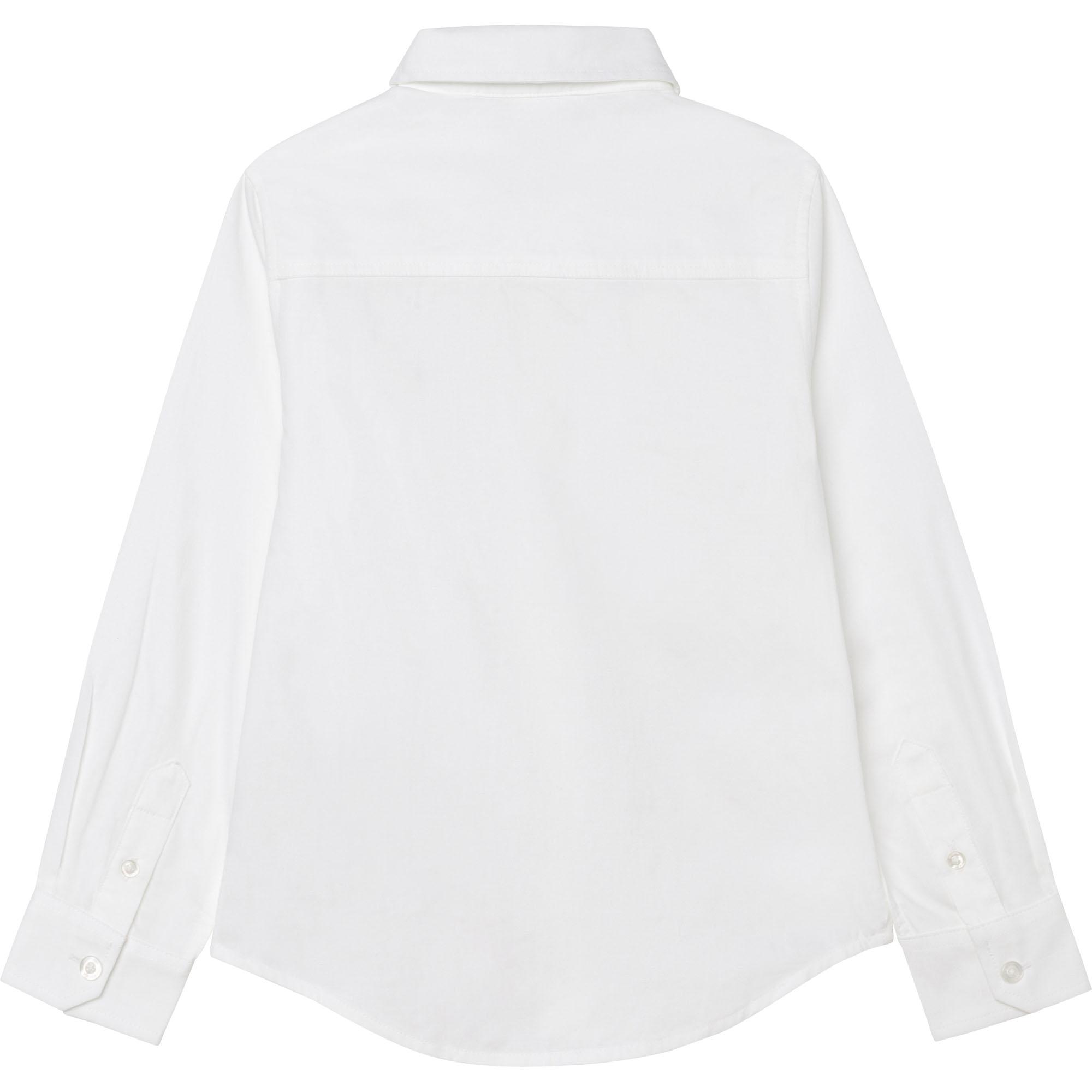 Chemise à manches longues BOSS pour GARCON
