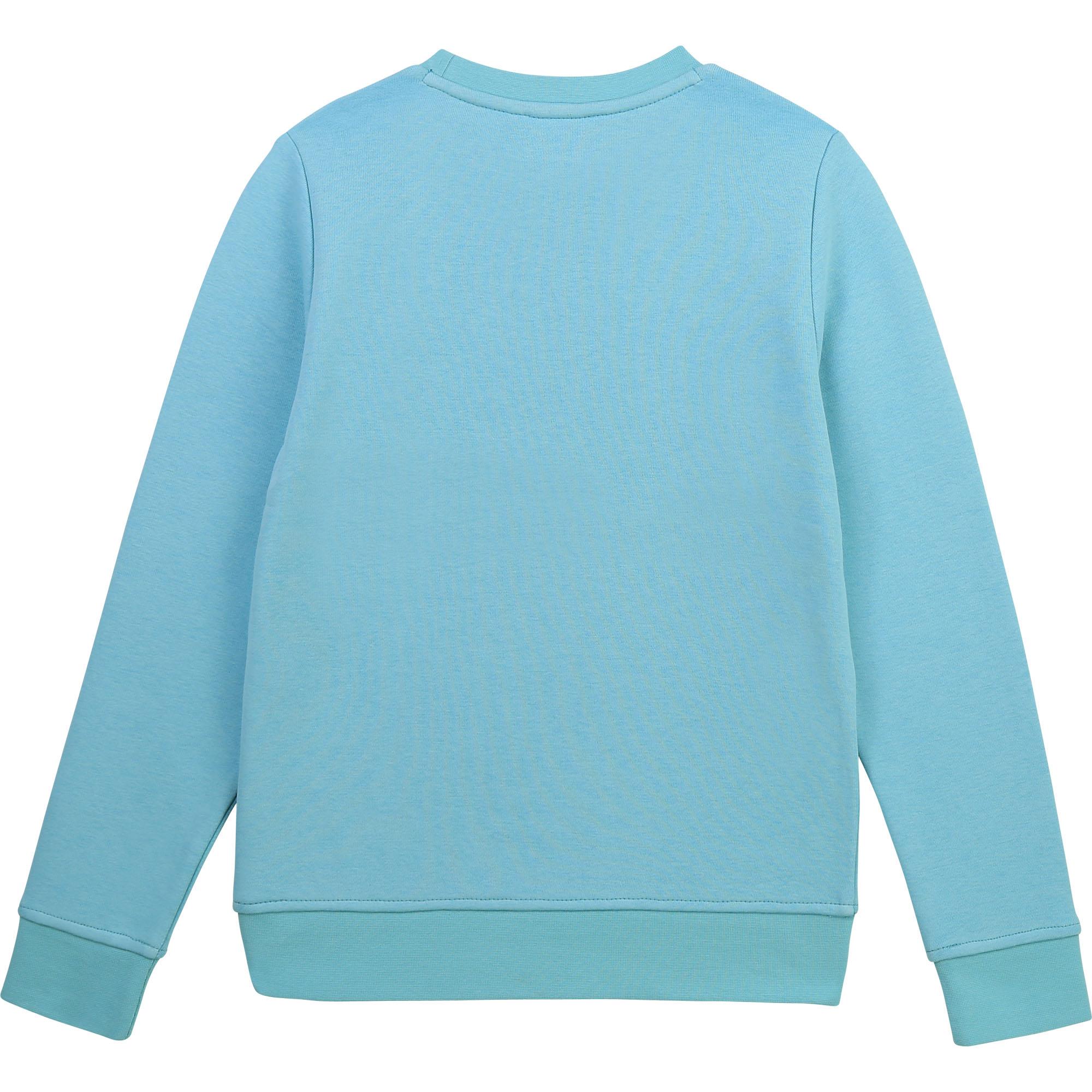 Sweat-shirt en molleton BOSS pour GARCON