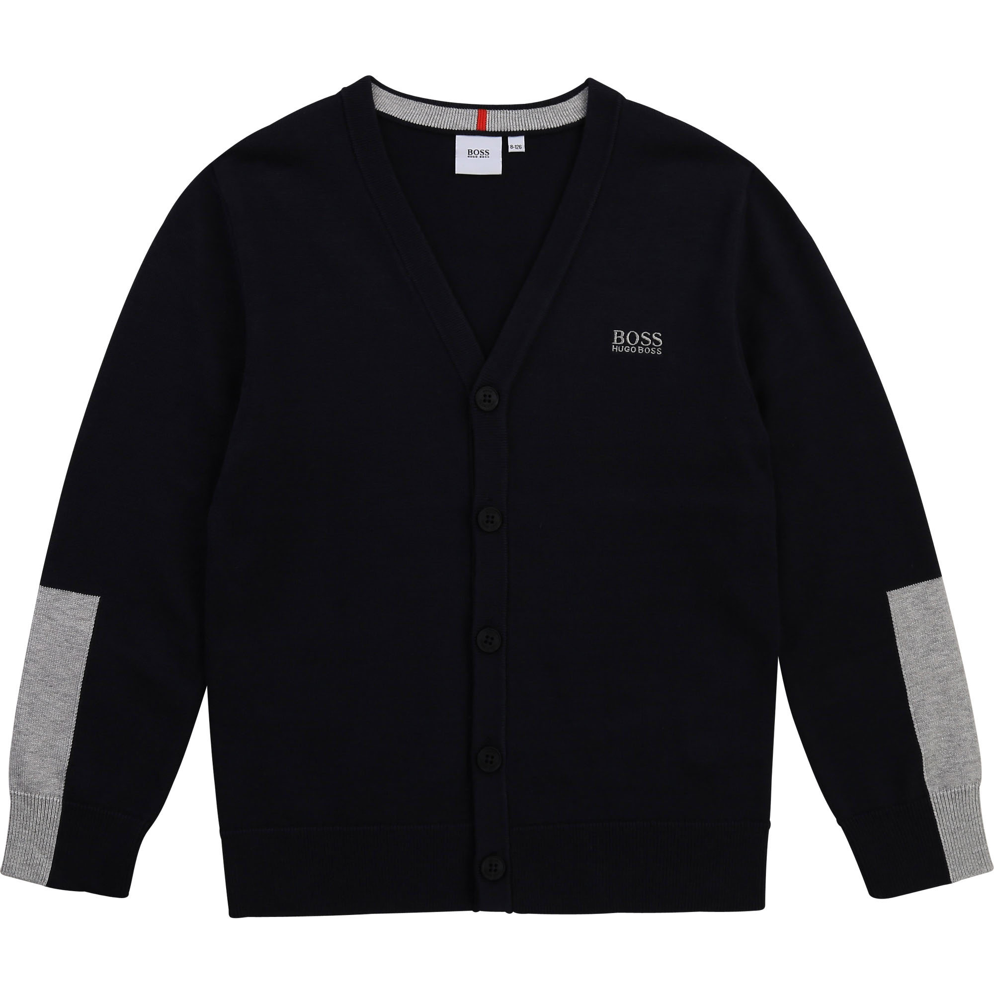 Cotton tricot cardigan BOSS for BOY