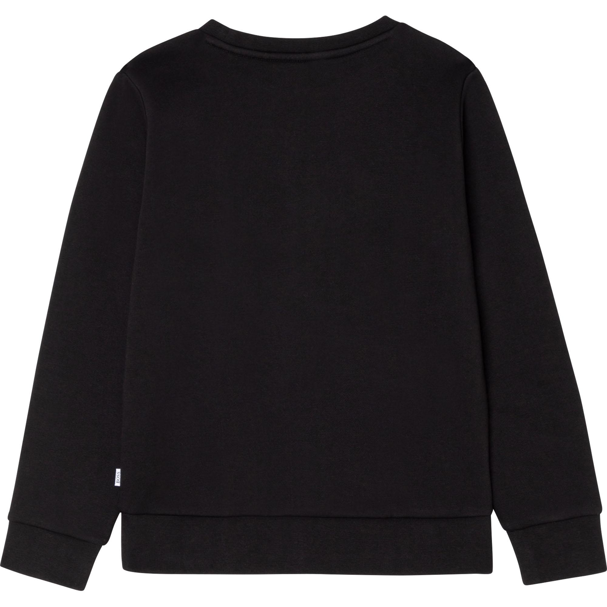 Sweatshirt en molleton à logo BOSS pour GARCON