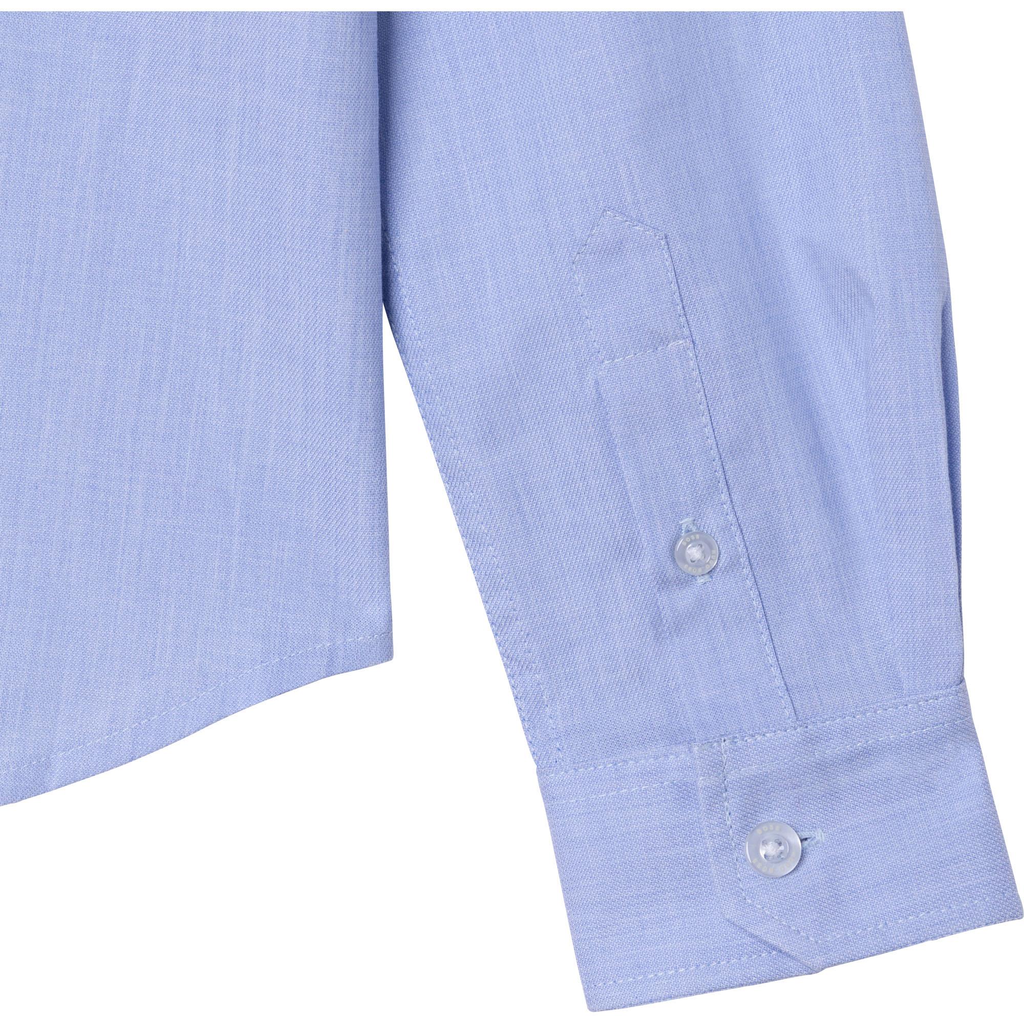Long-sleeved cotton shirt BOSS for BOY