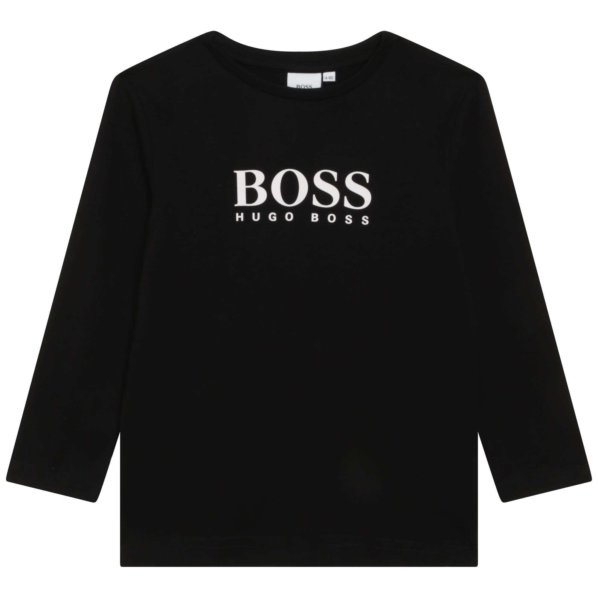 LONG SLEEVE T-SHIRT BOSS for BOY