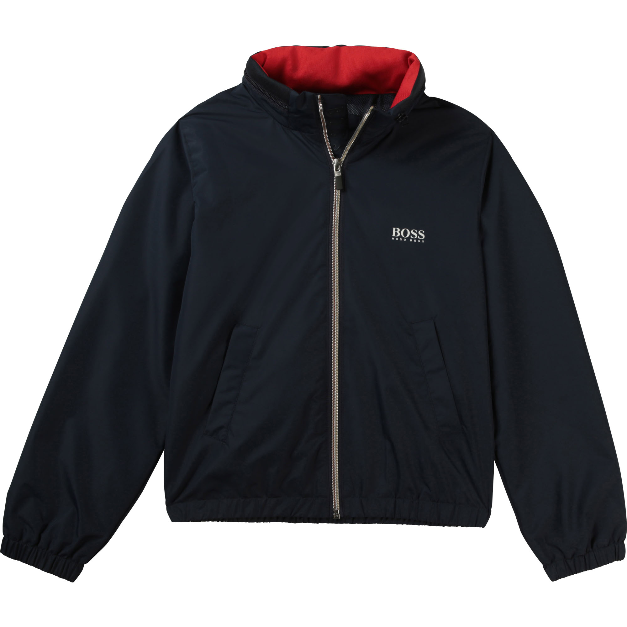 Water-repellent hooded jacket BOSS for BOY