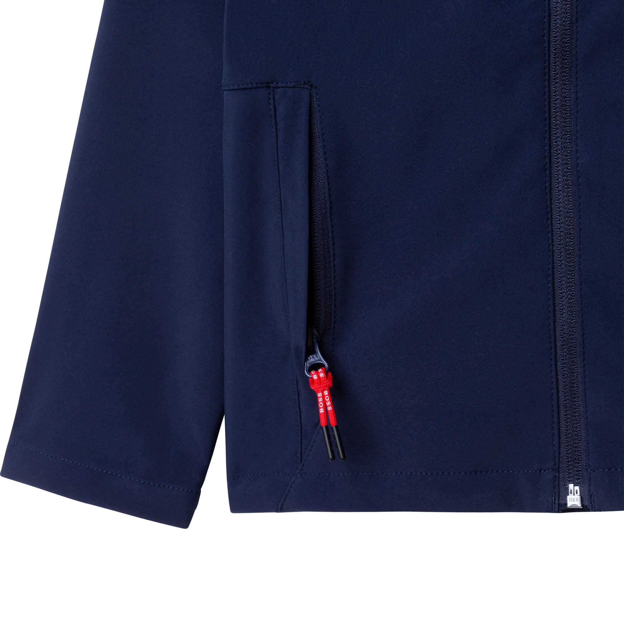 Hooded softshell jacket BOSS for BOY