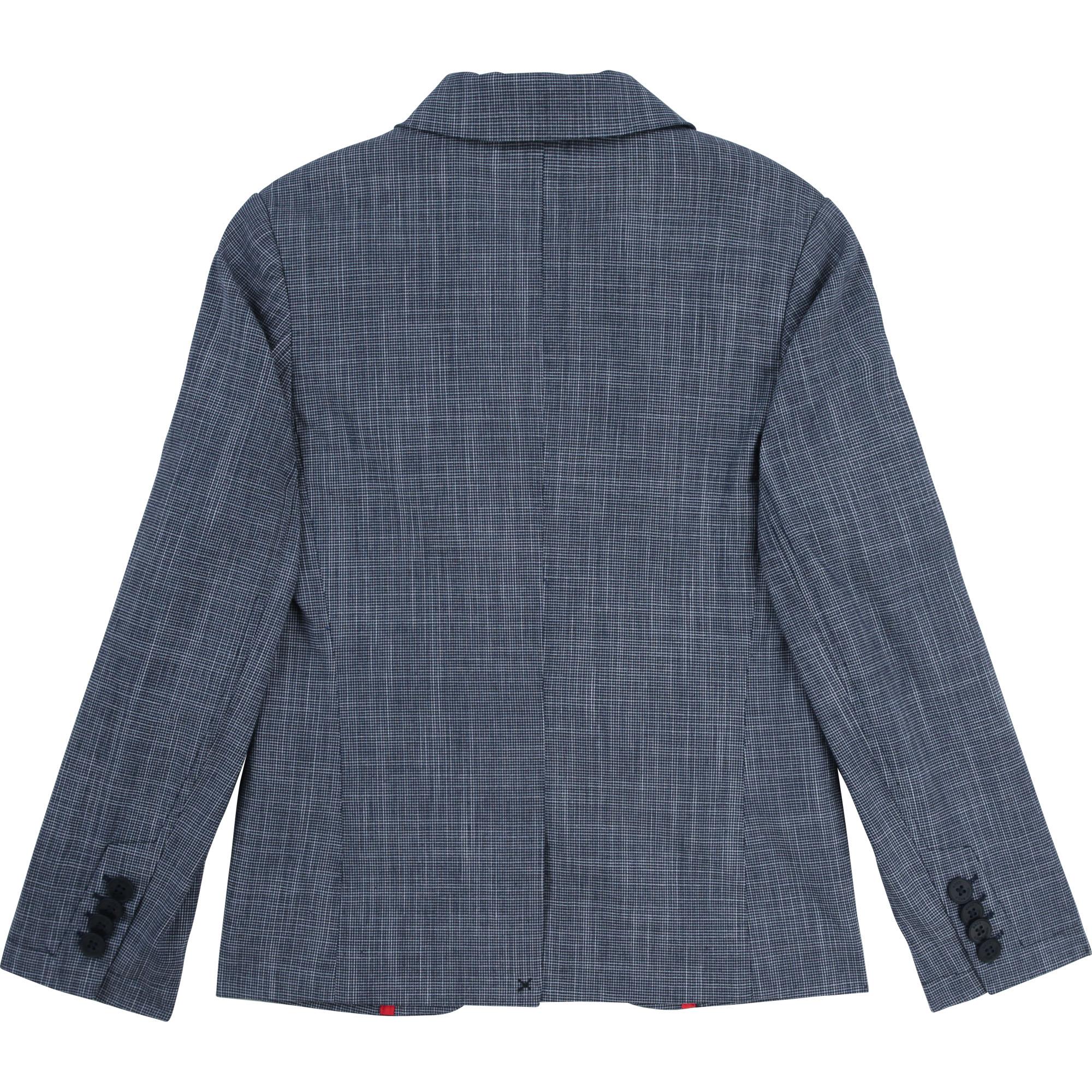 Veste de costume en coton BOSS pour GARCON