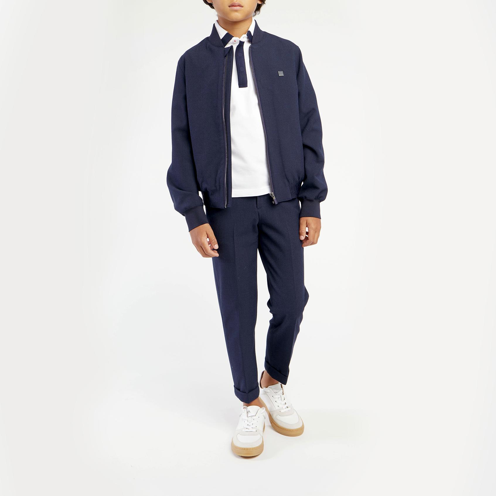 Polyester varsity suit jacket BOSS for BOY