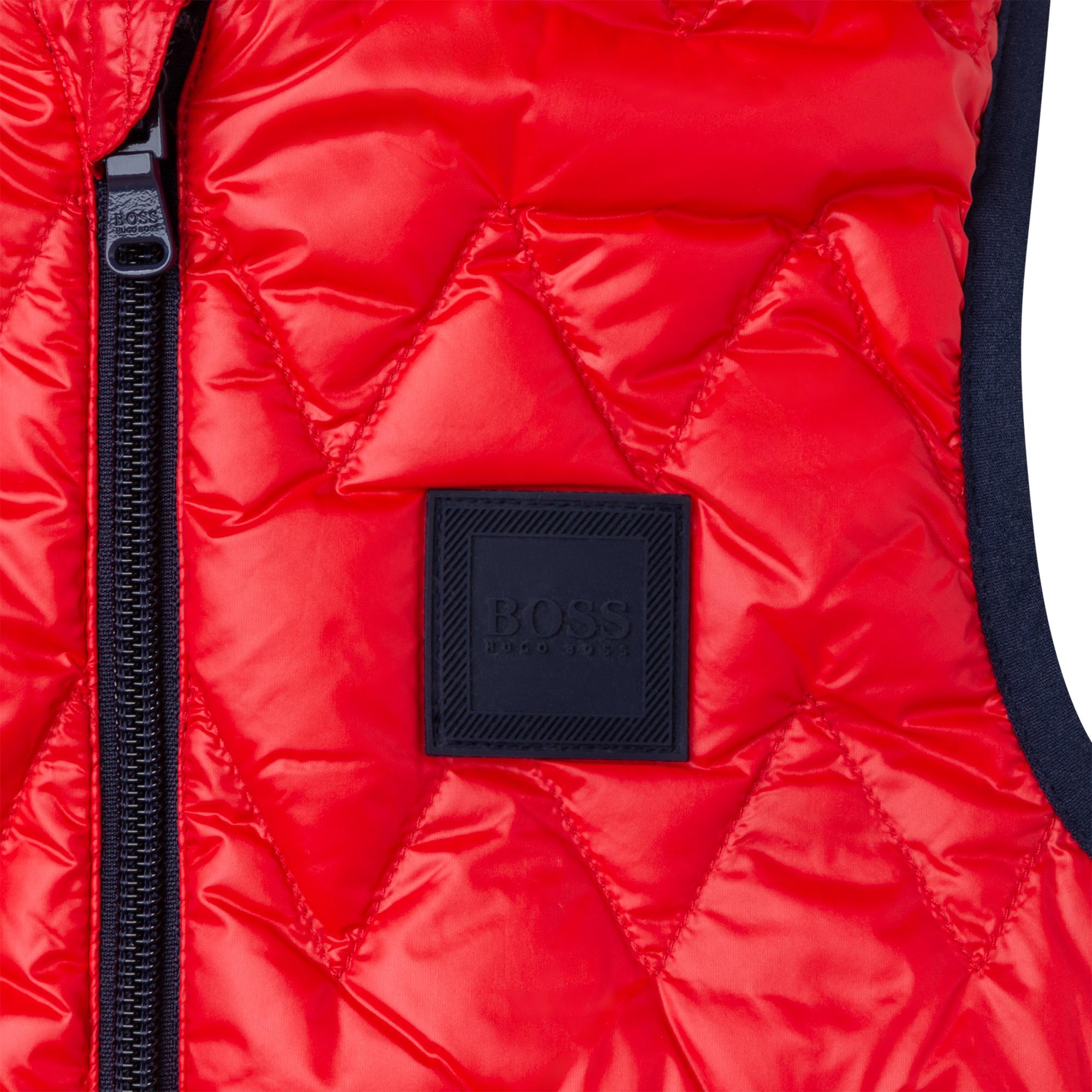 Reversible waterproof puffer jacket BOSS for BOY