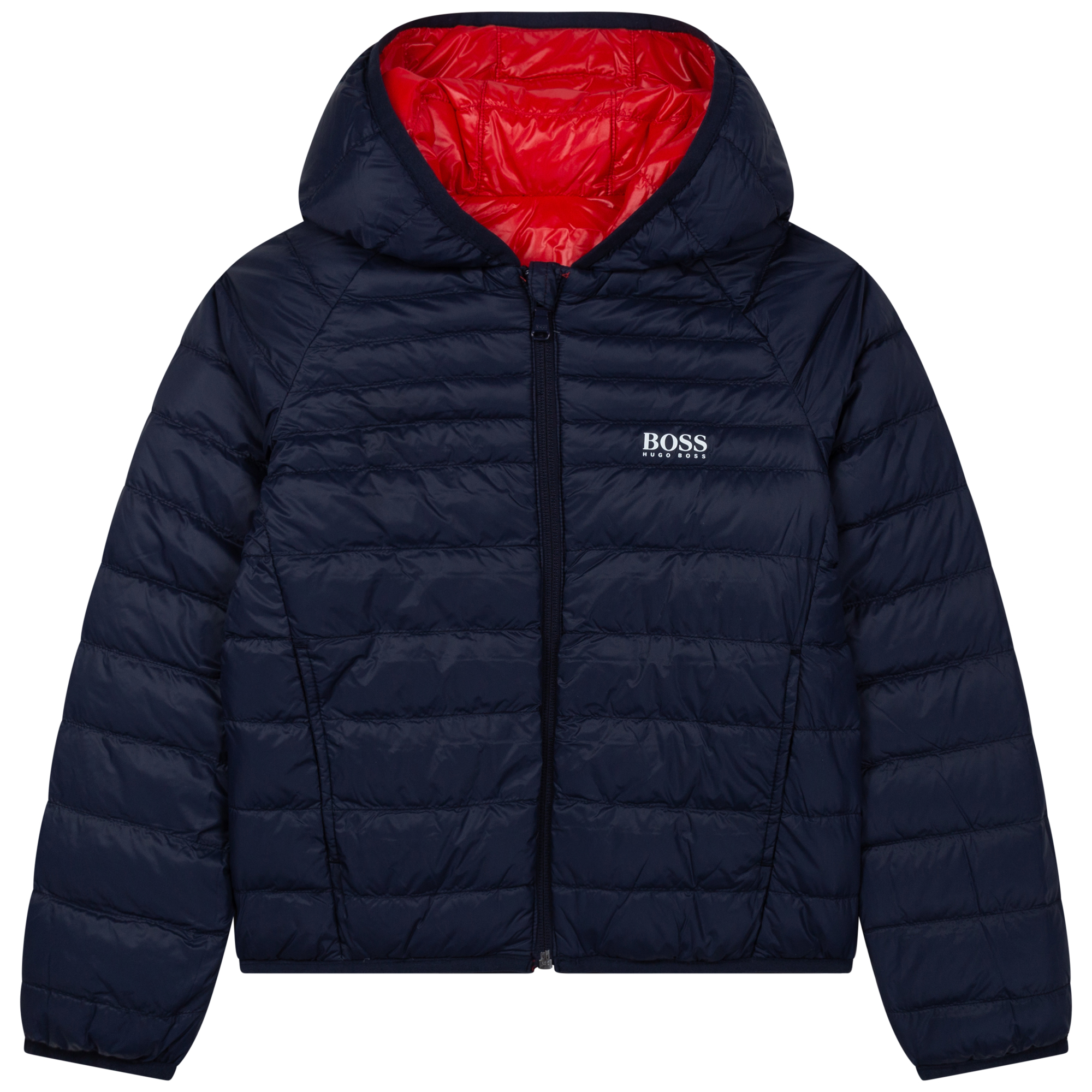Reversible waterproof down jacket BOSS for BOY
