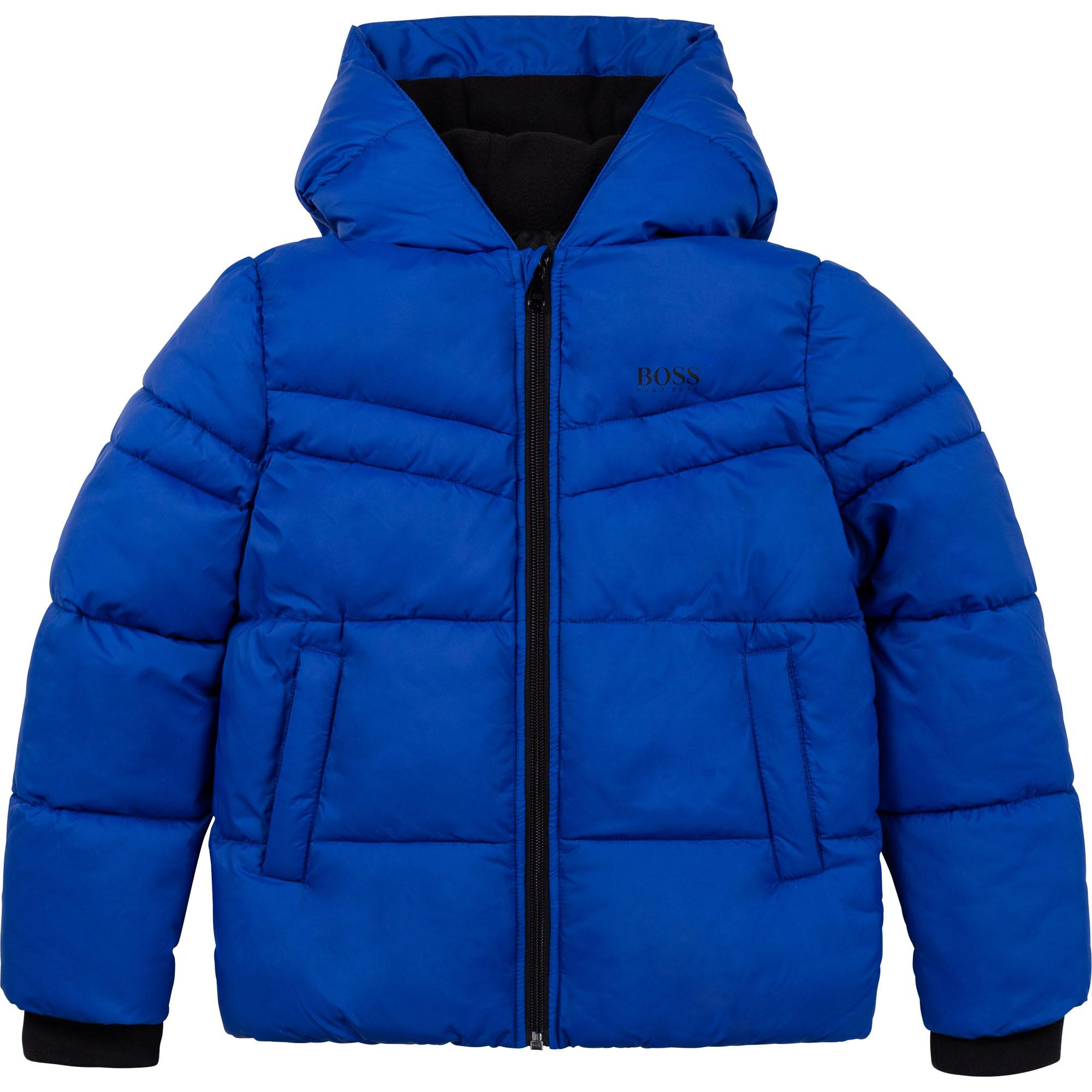Waterproof hooded puffer jacket BOSS for BOY