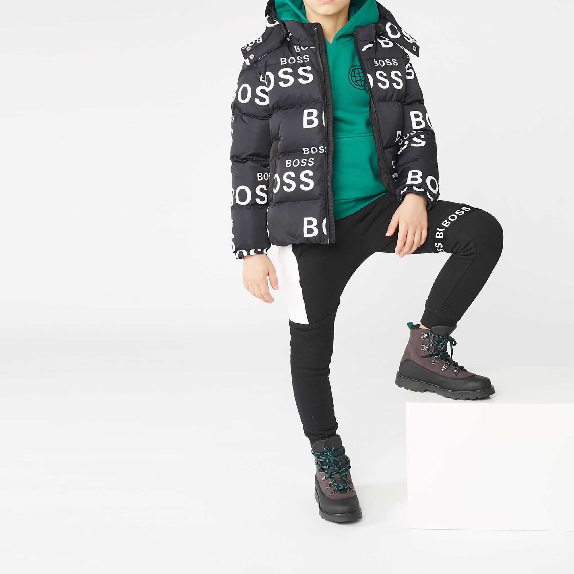 Waterproof zip-up puffer jacket BOSS for BOY