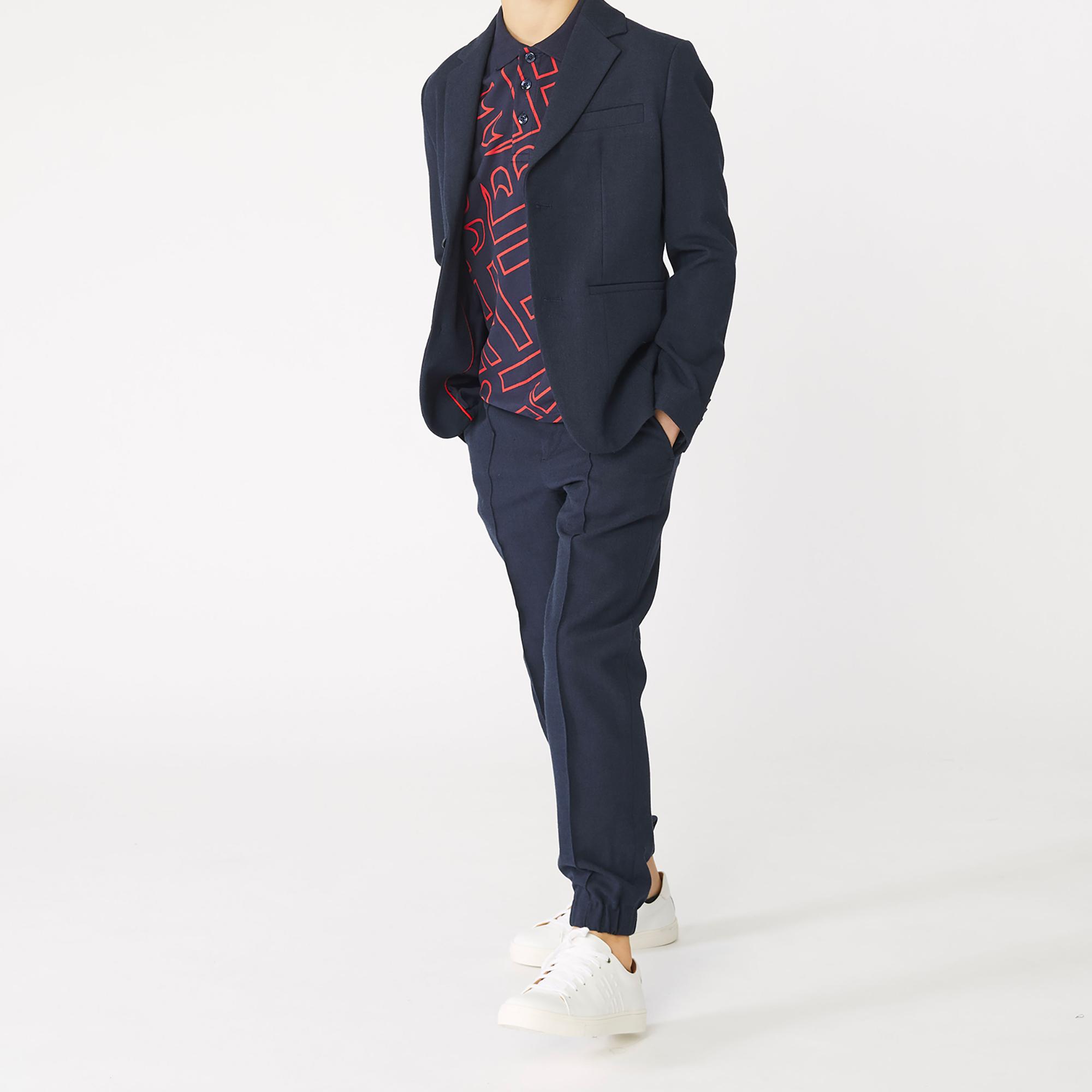 Plain weave suit BOSS for BOY