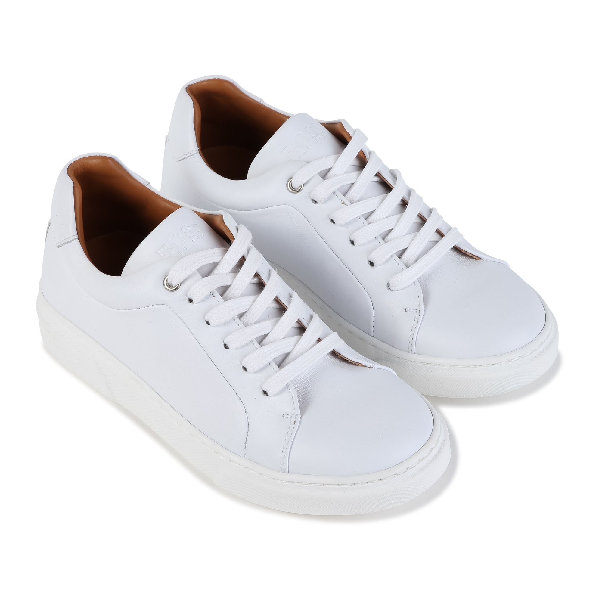 Low-top lace-up trainers BOSS for BOY
