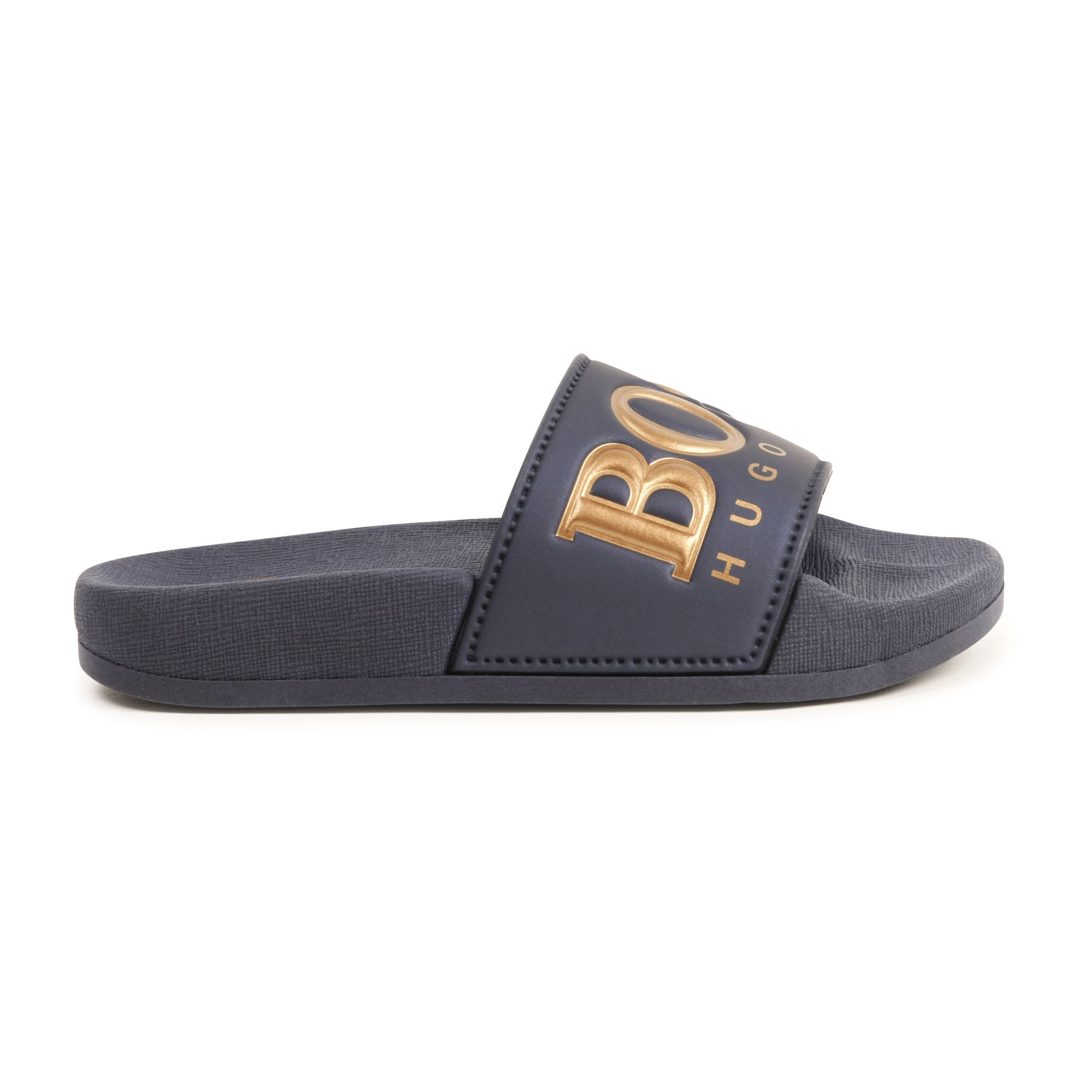 Contrasting PVC sandals BOSS for BOY