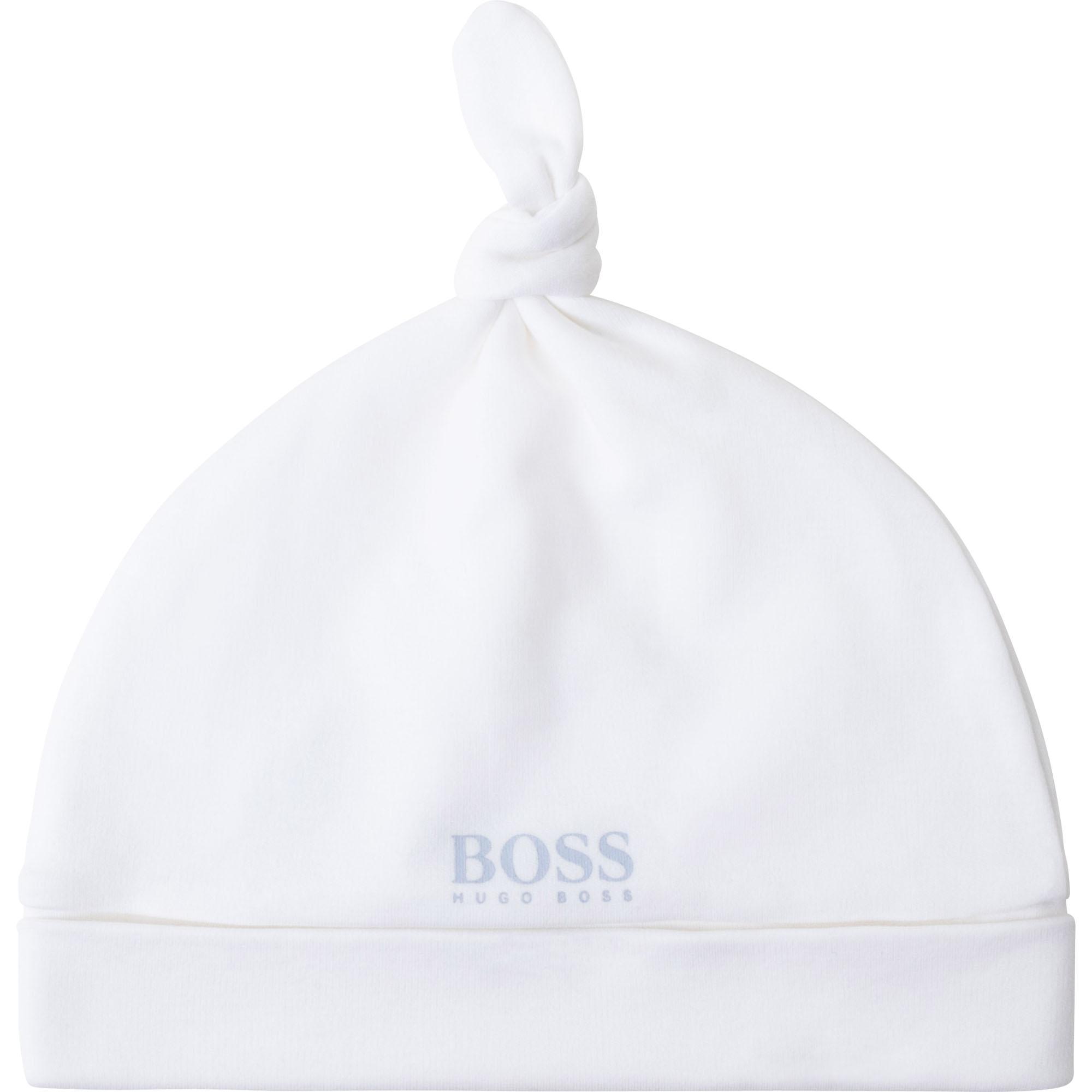 Bonnet en interlock coton BOSS pour UNISEXE