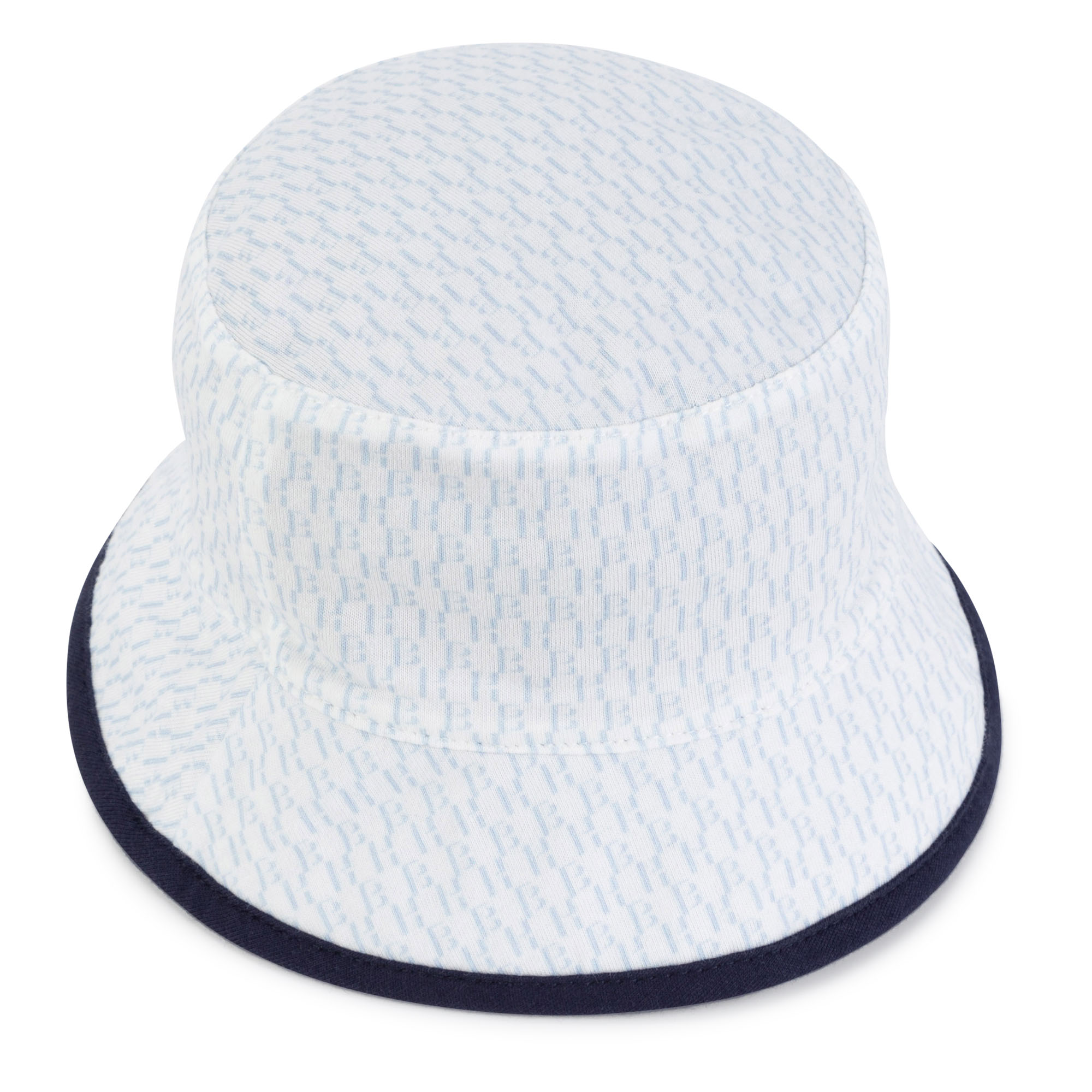 Cotton jersey bucket hat BOSS for BOY