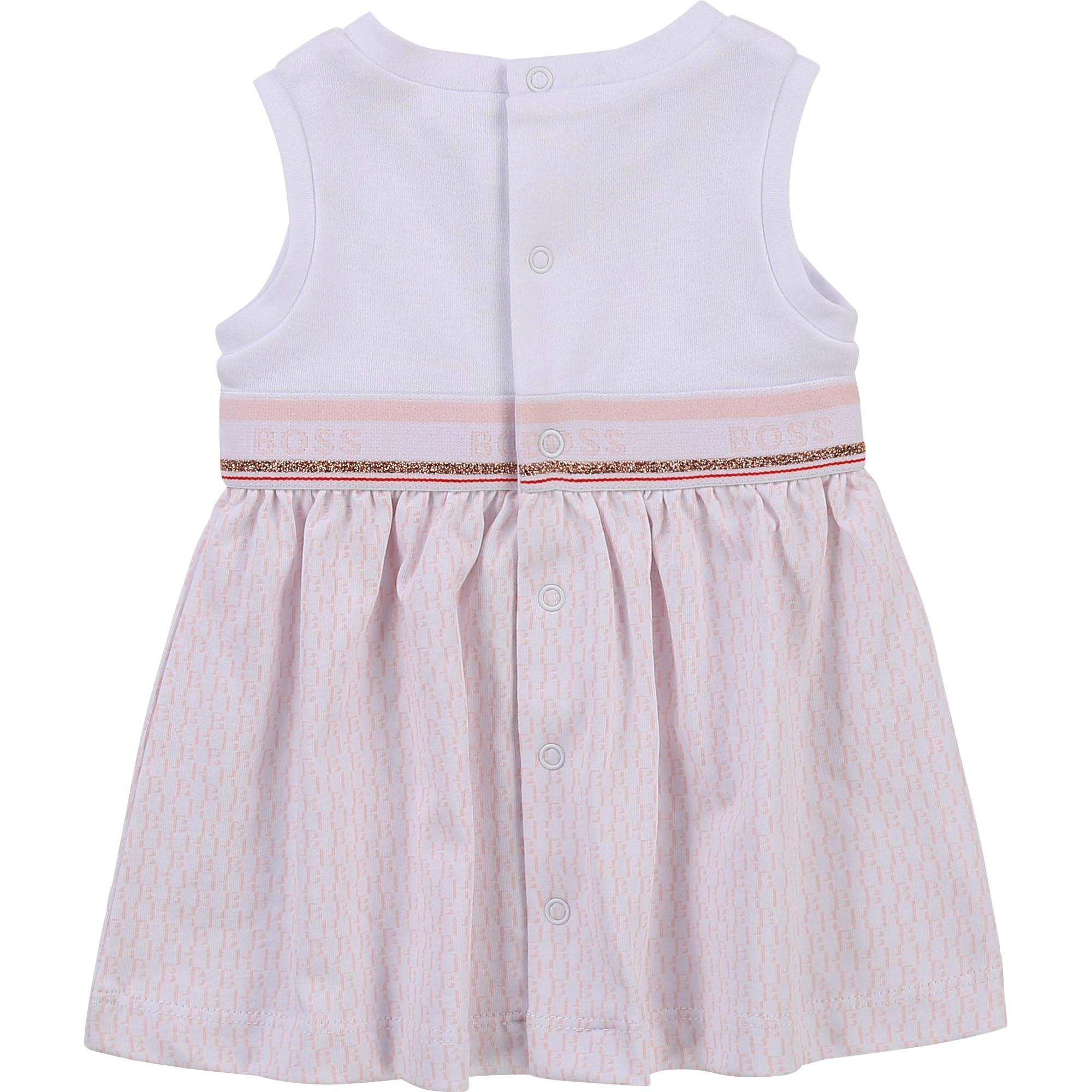Sleeveless jersey dress BOSS for GIRL