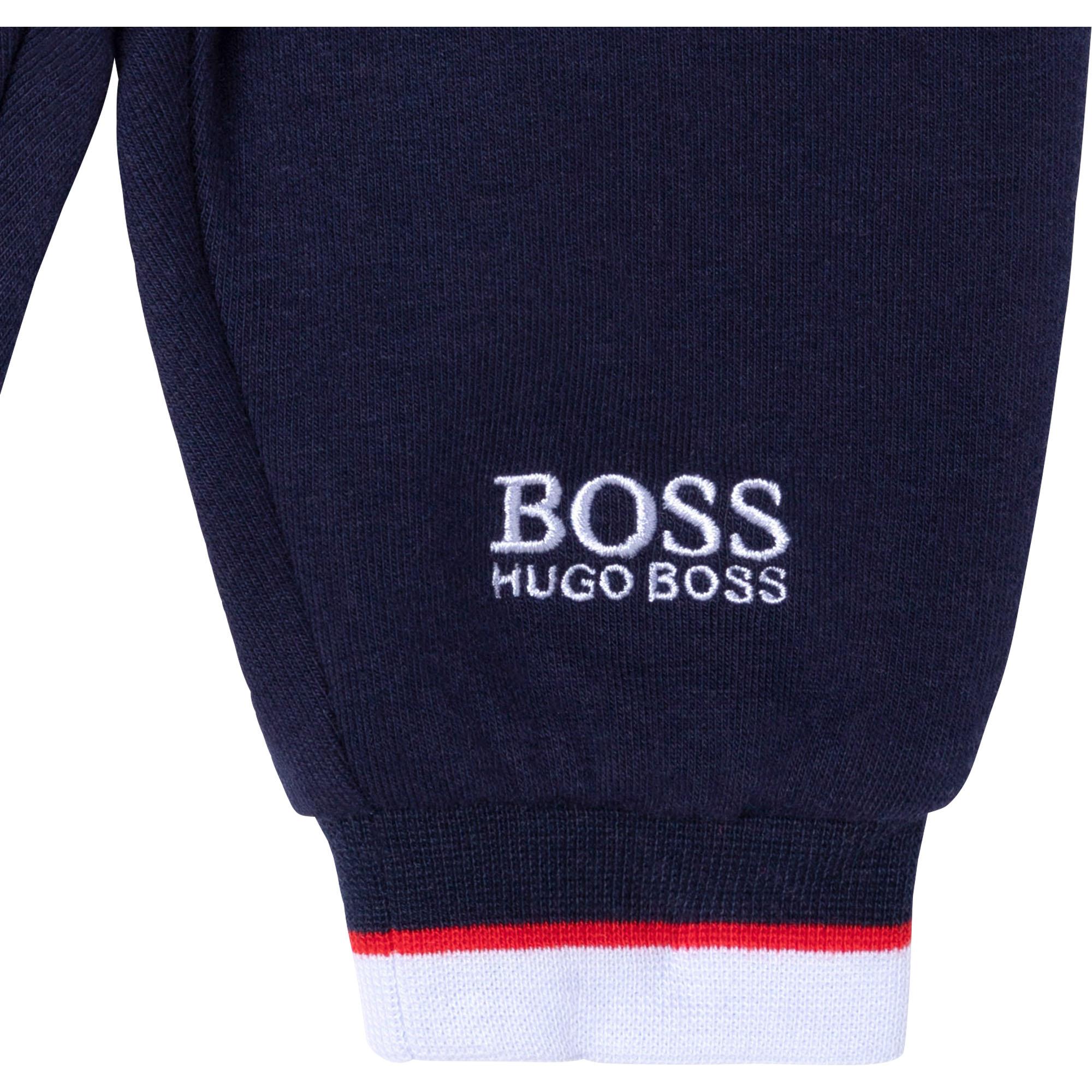 Fleece joggers BOSS for BOY