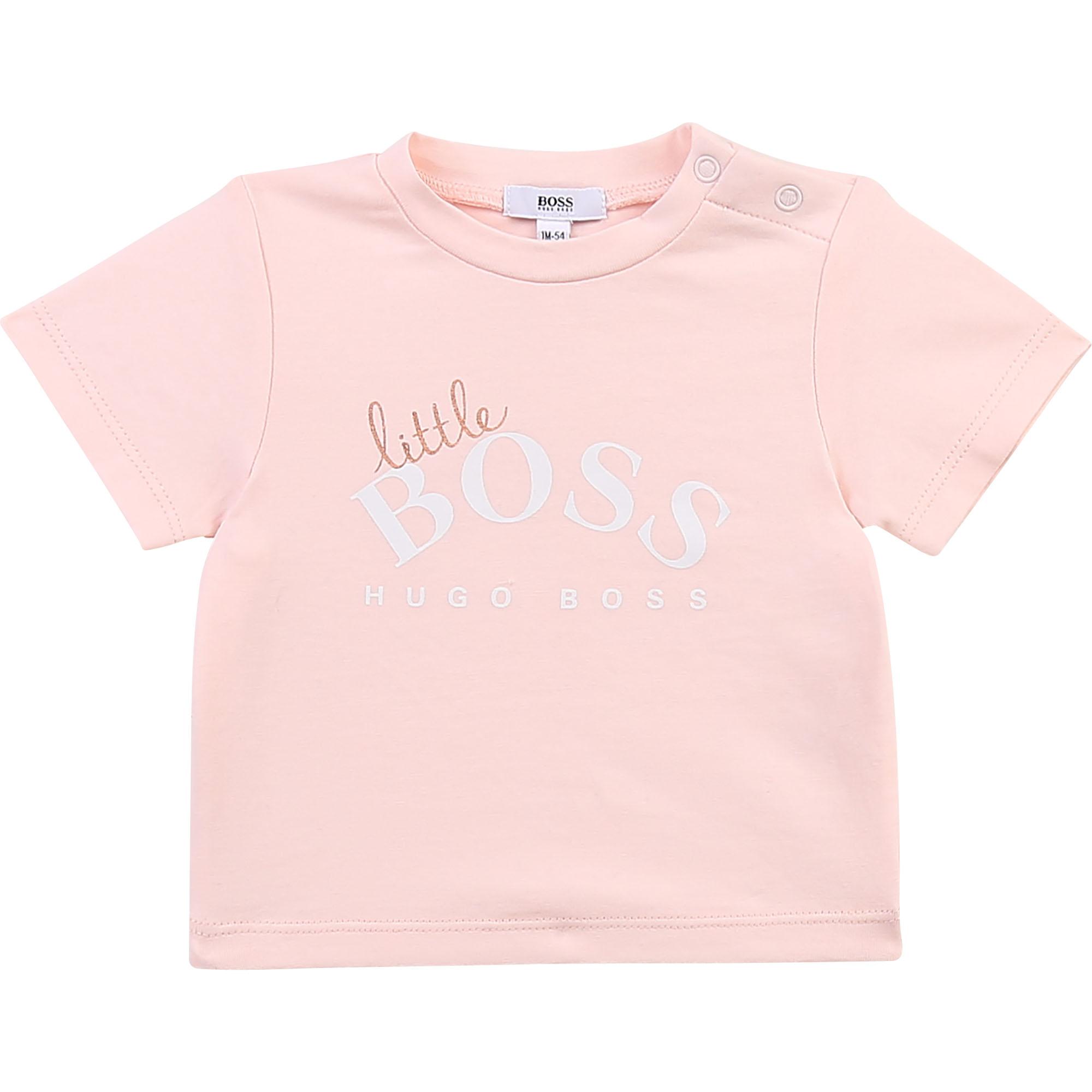 Short-sleeved T-shirt BOSS for GIRL