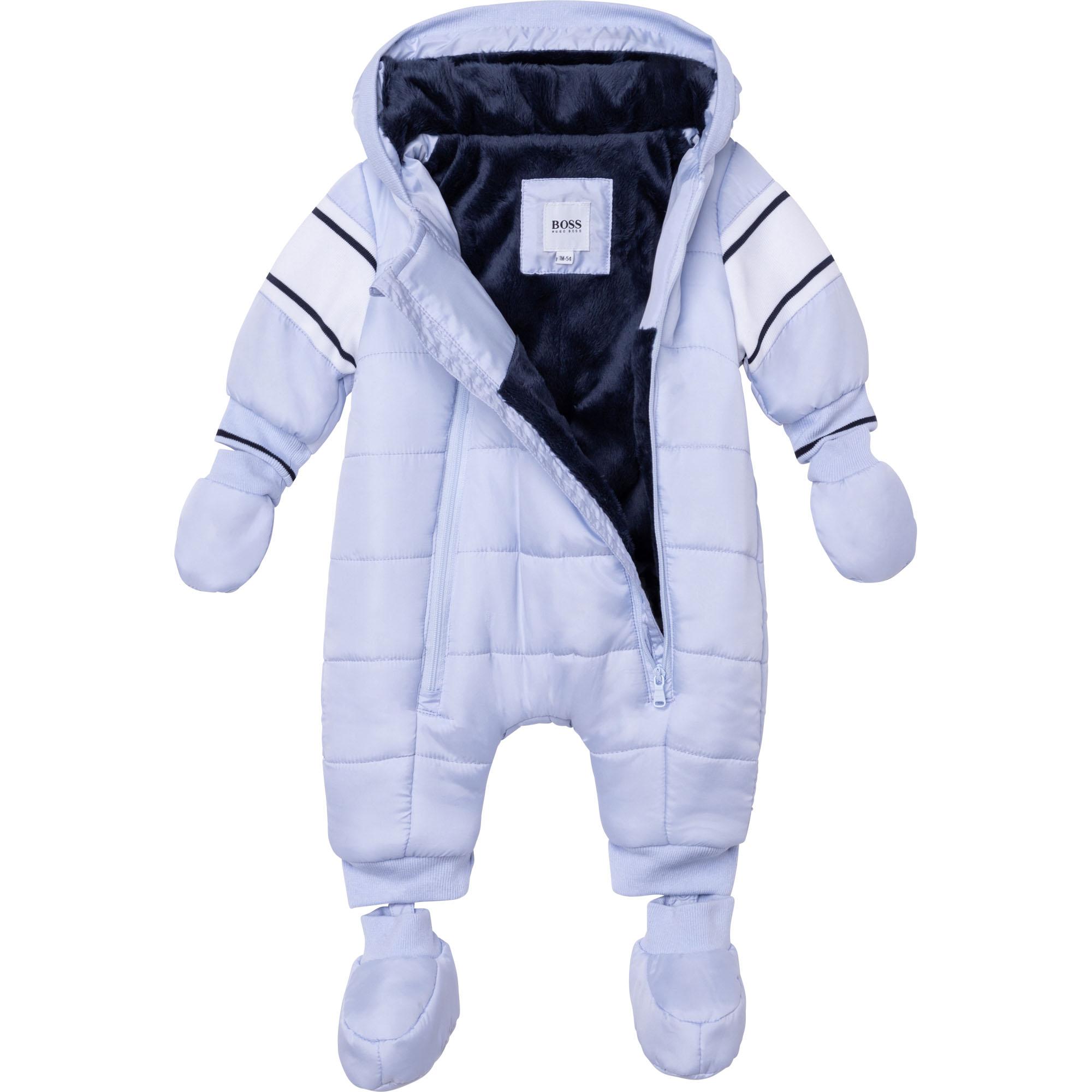Water-resistant snowsuit BOSS for BOY