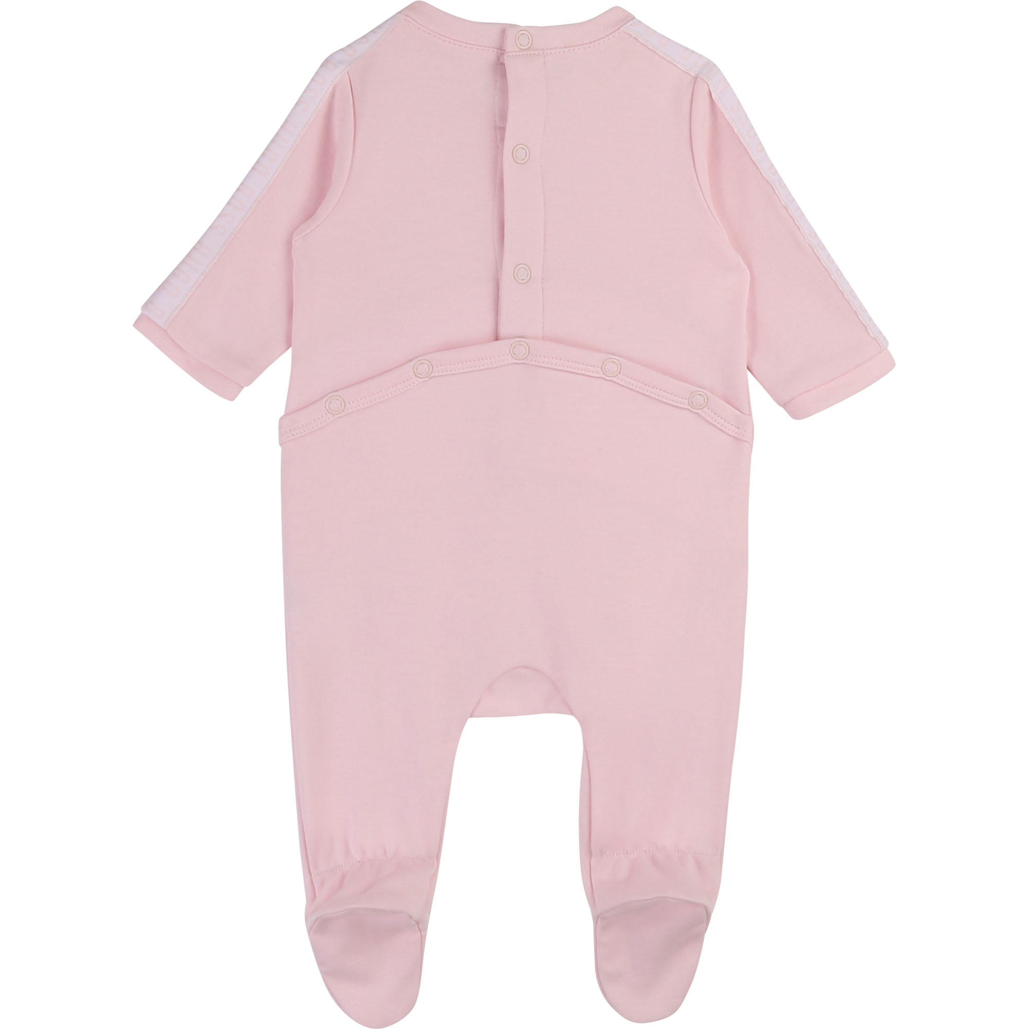 Pyjama en coton interlock BOSS pour FILLE