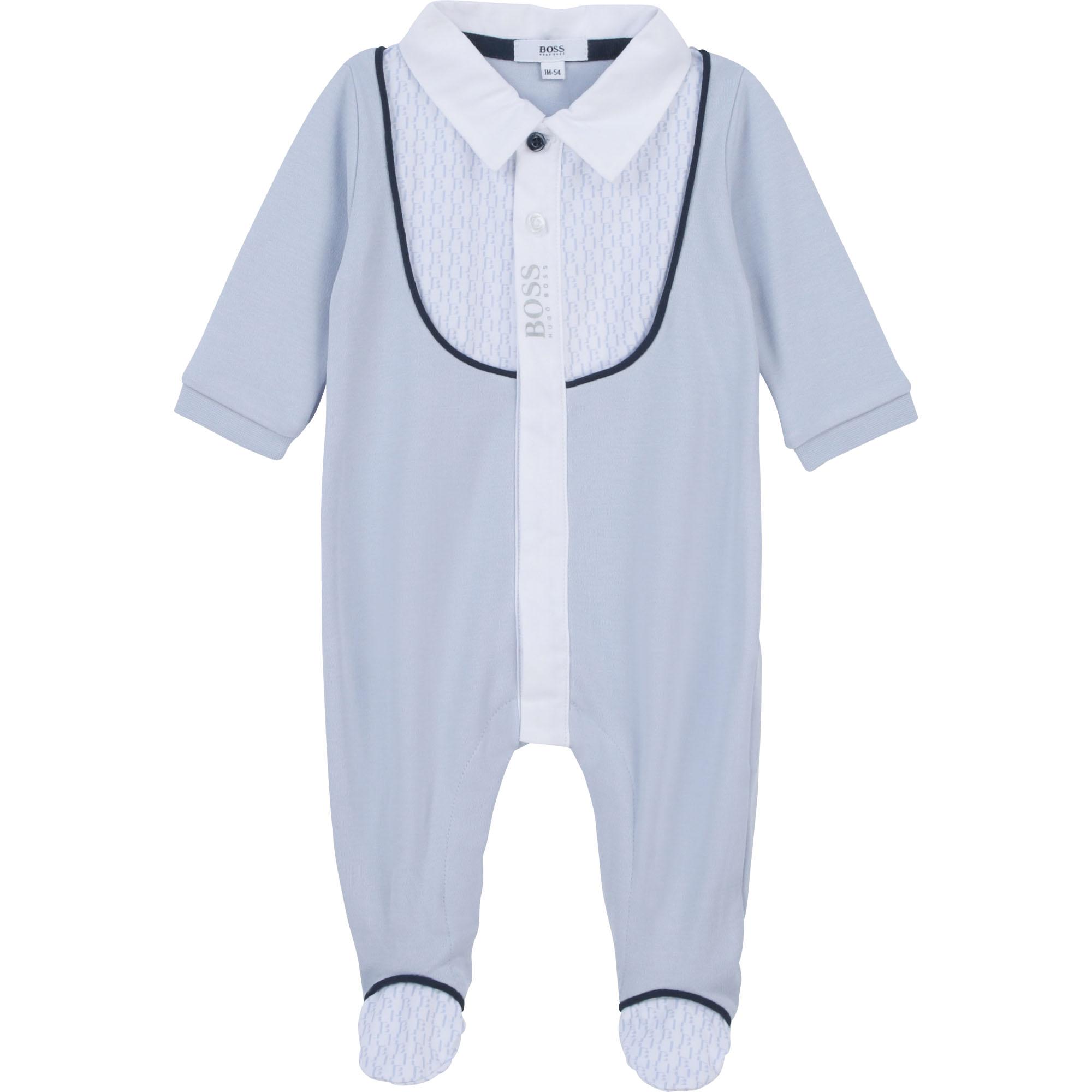 Pyjama en interlock coton BOSS pour GARCON