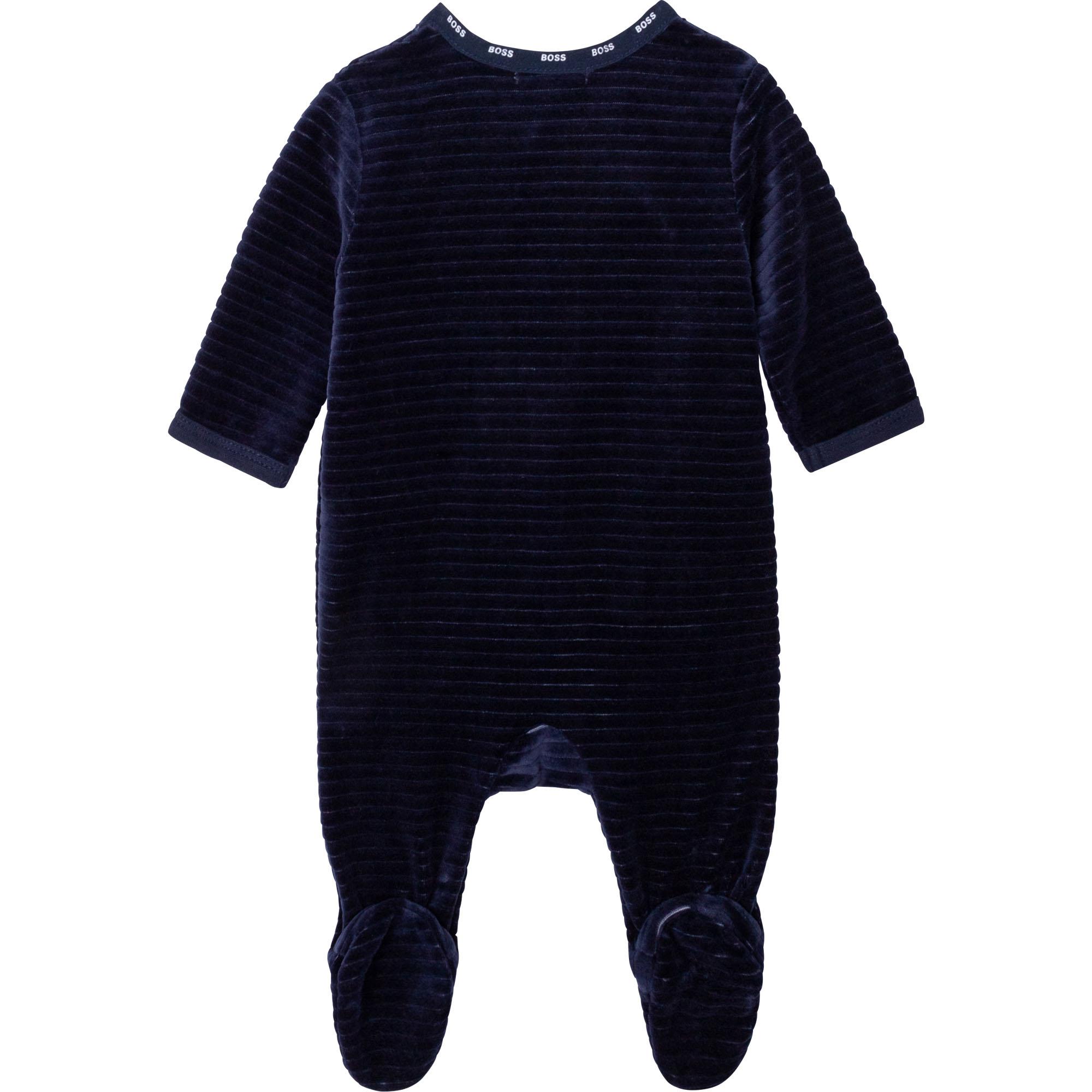 Corduroy pajamas BOSS for BOY