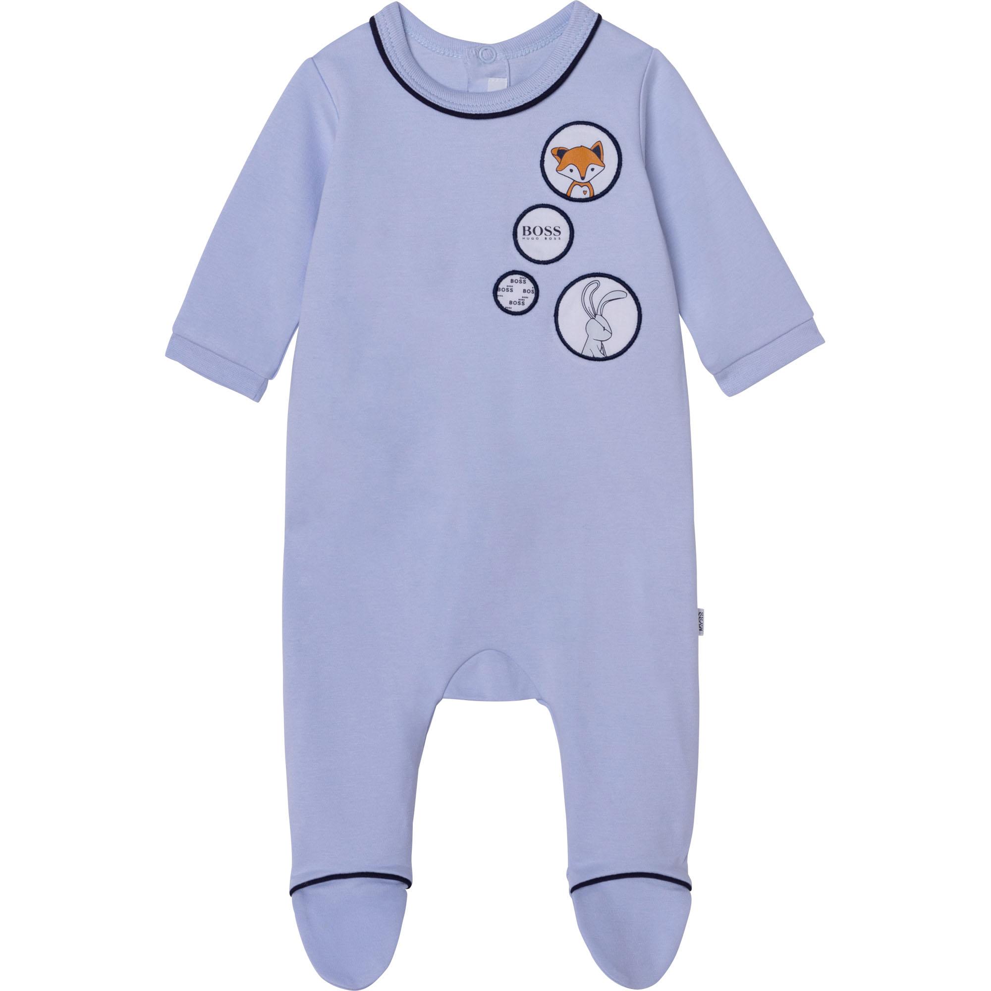 Decorative press stud pajamas BOSS for BOY
