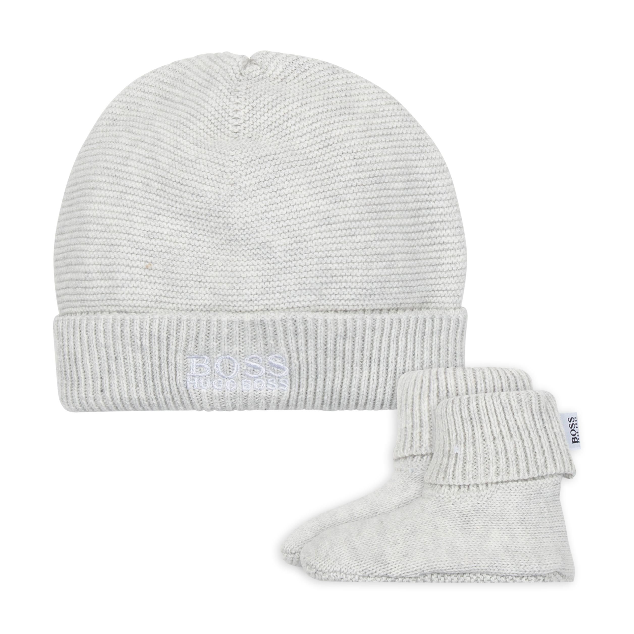 PULL ON HAT+SLIPPERS BOSS for UNISEX