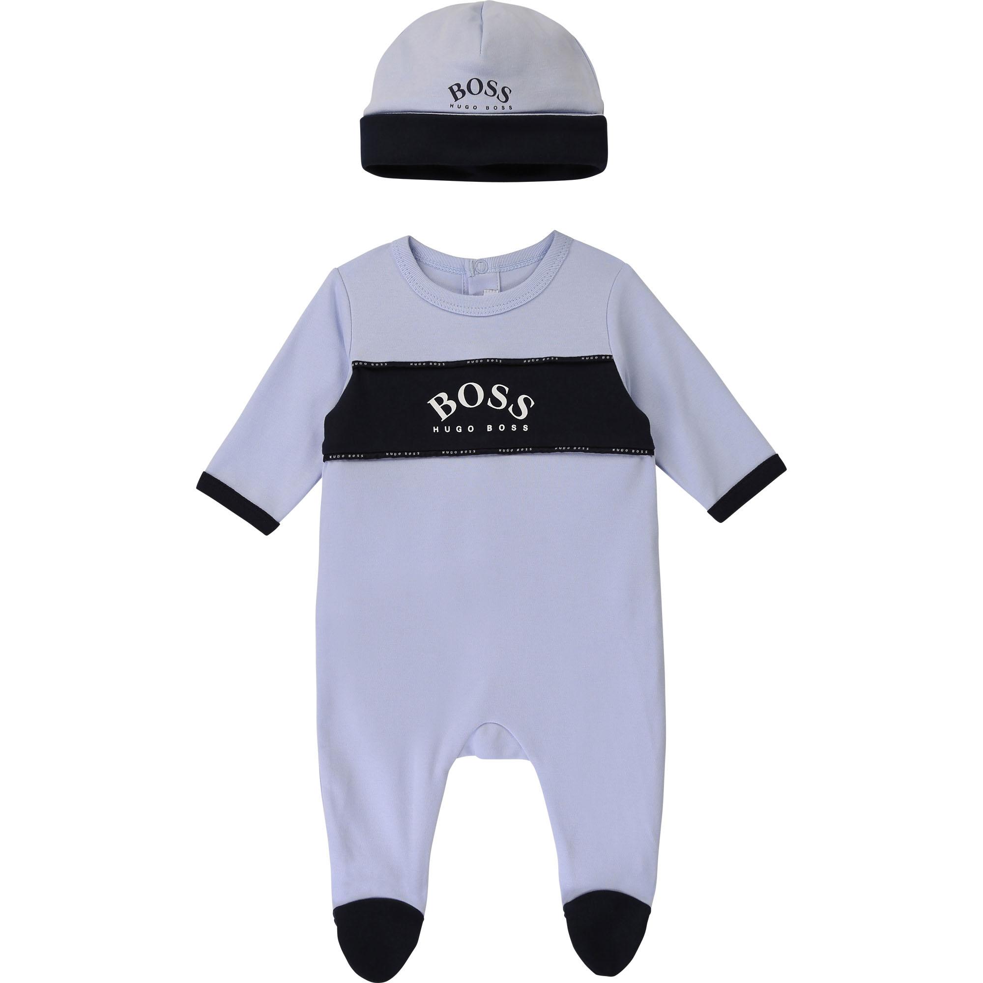 Ensemble pyjama et bonnet BOSS pour GARCON